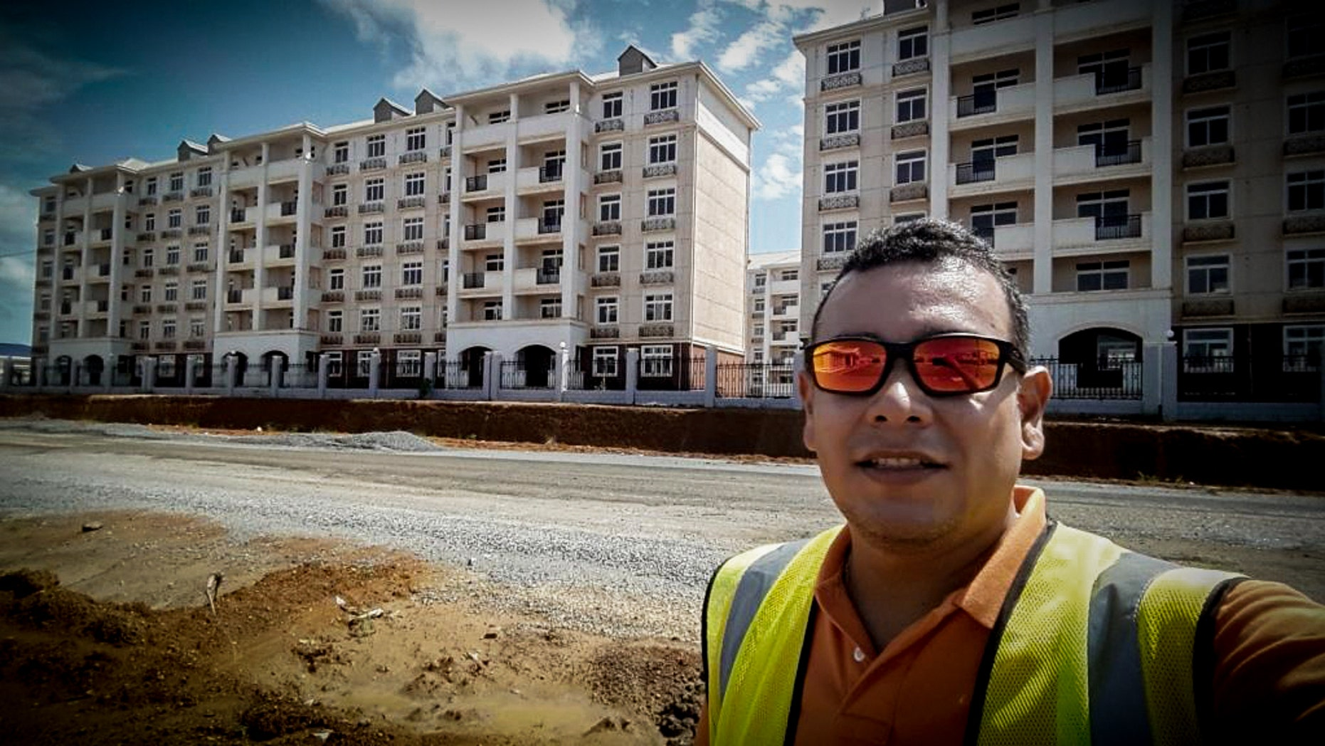 Luis Eduardo Medrano worked in Equatorial Guinea since 2009.