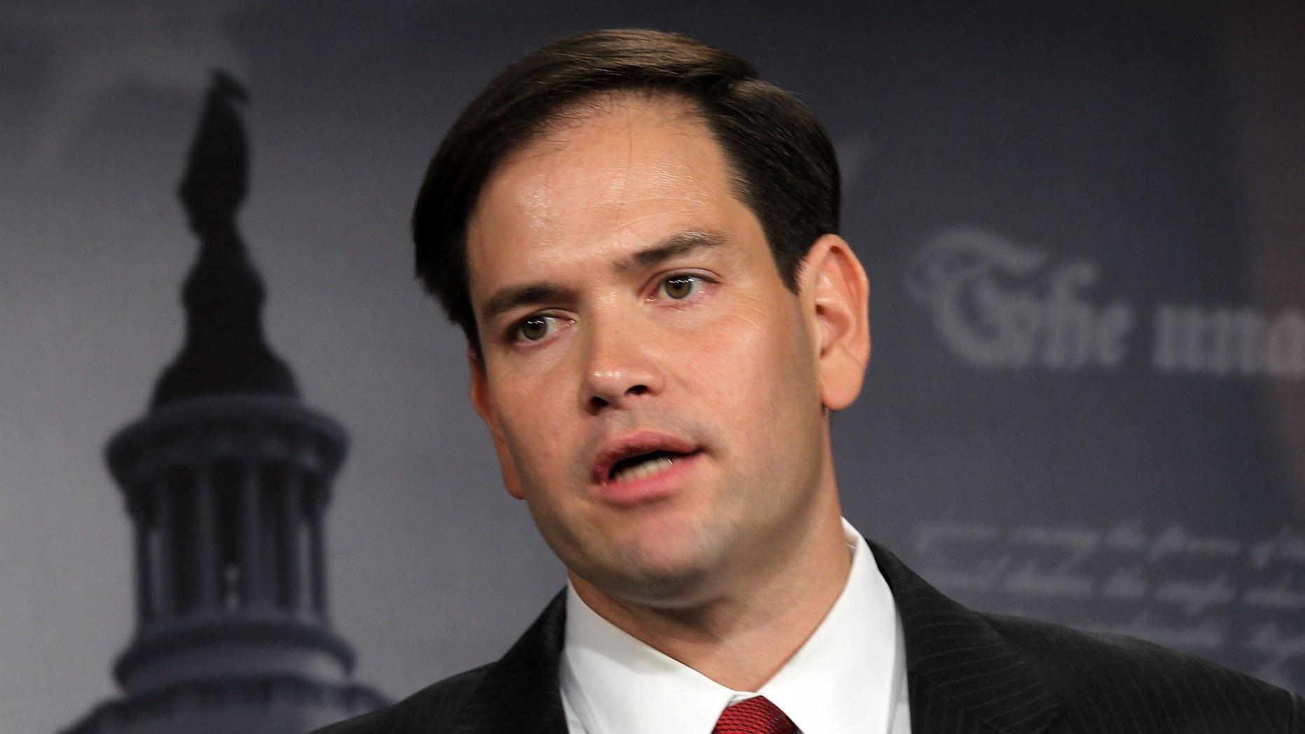 Florida Senator Marco Rubio.