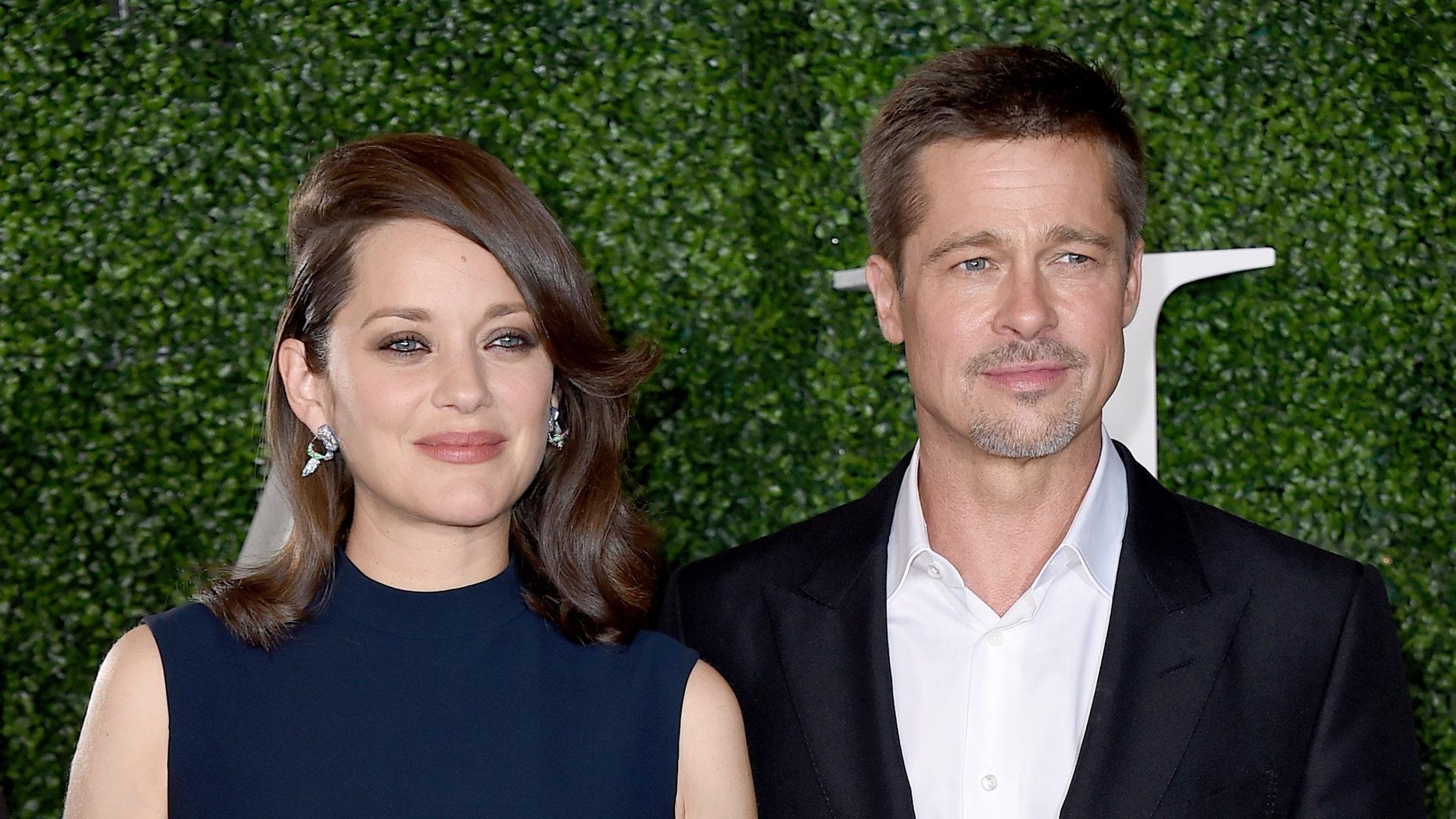 Marion Cotillard Admits Sex Scenes With Brad Pitt Were Awkward