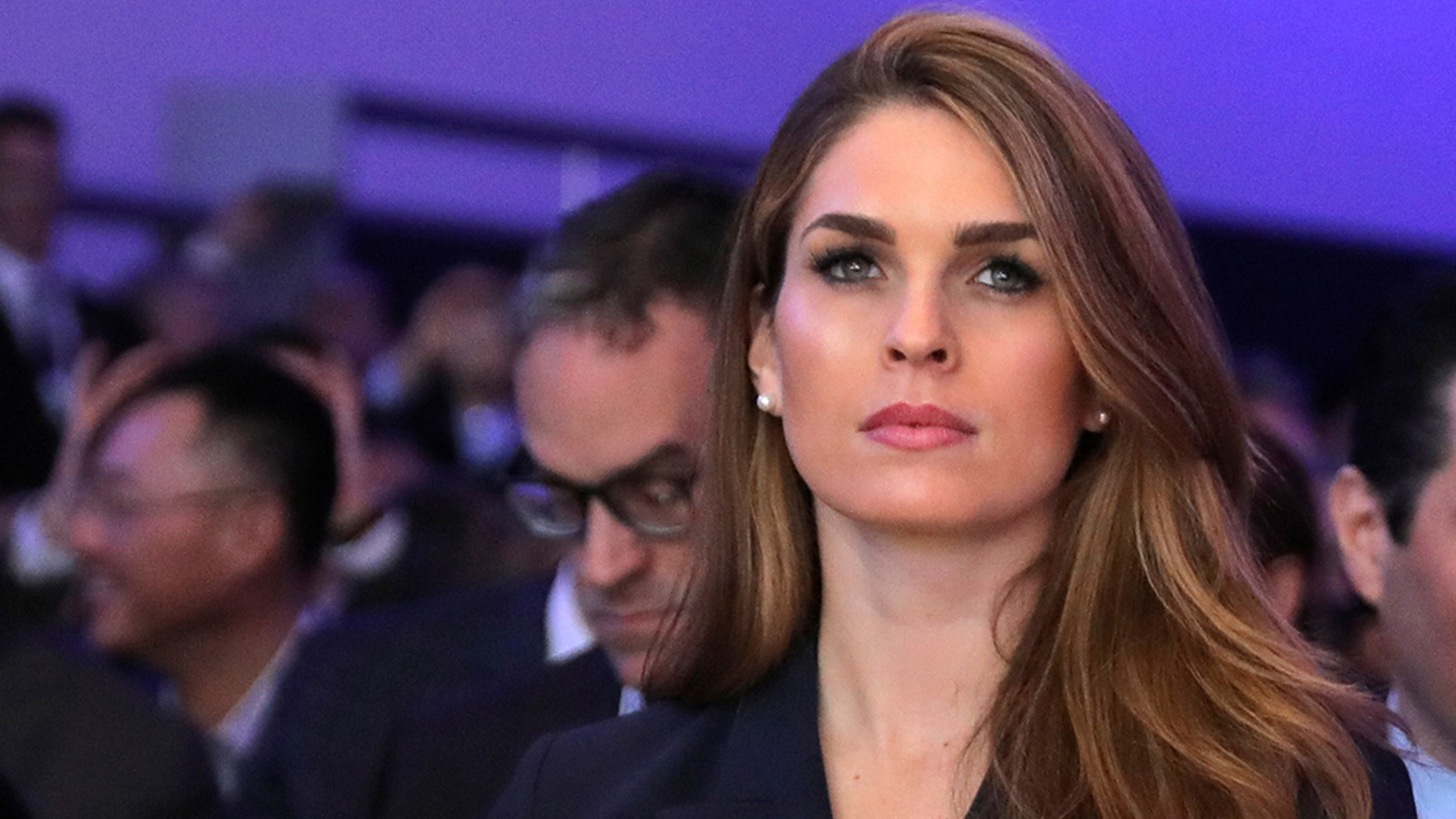Hope Hicks, 29, had no political background when she joined Trump's 2016 campaign team.