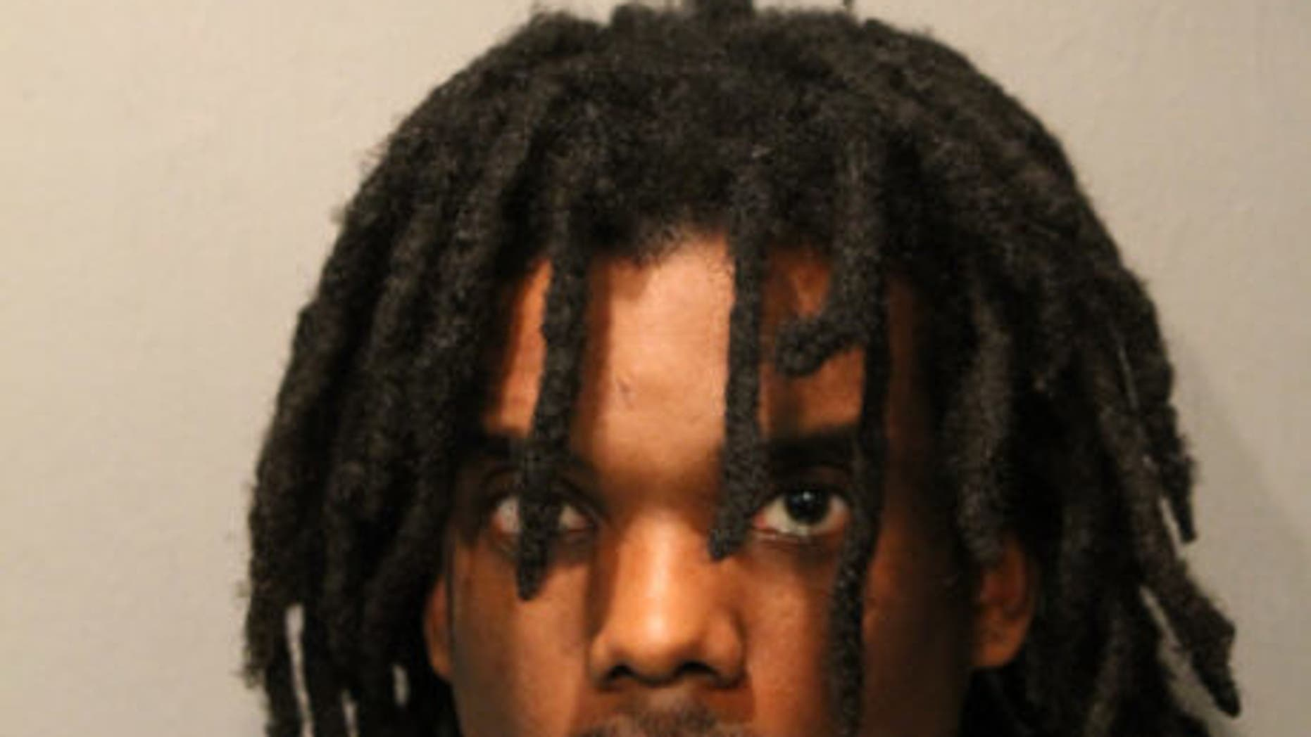 This photo provided by the Chicago Police Department shows Devon Swan.    Chicago police spokesman Anthony Guglielmi said Saturday, Feb. 18, 2017,  that Swan was charged with first-degree murder in the death of 2-year-old Lavontay White. Lavontay's uncle, 26-year-old Lazaric Collins, also was killed in Tuesday's shooting, which left a pregnant woman wounded.   (Chicago Police Department via AP)