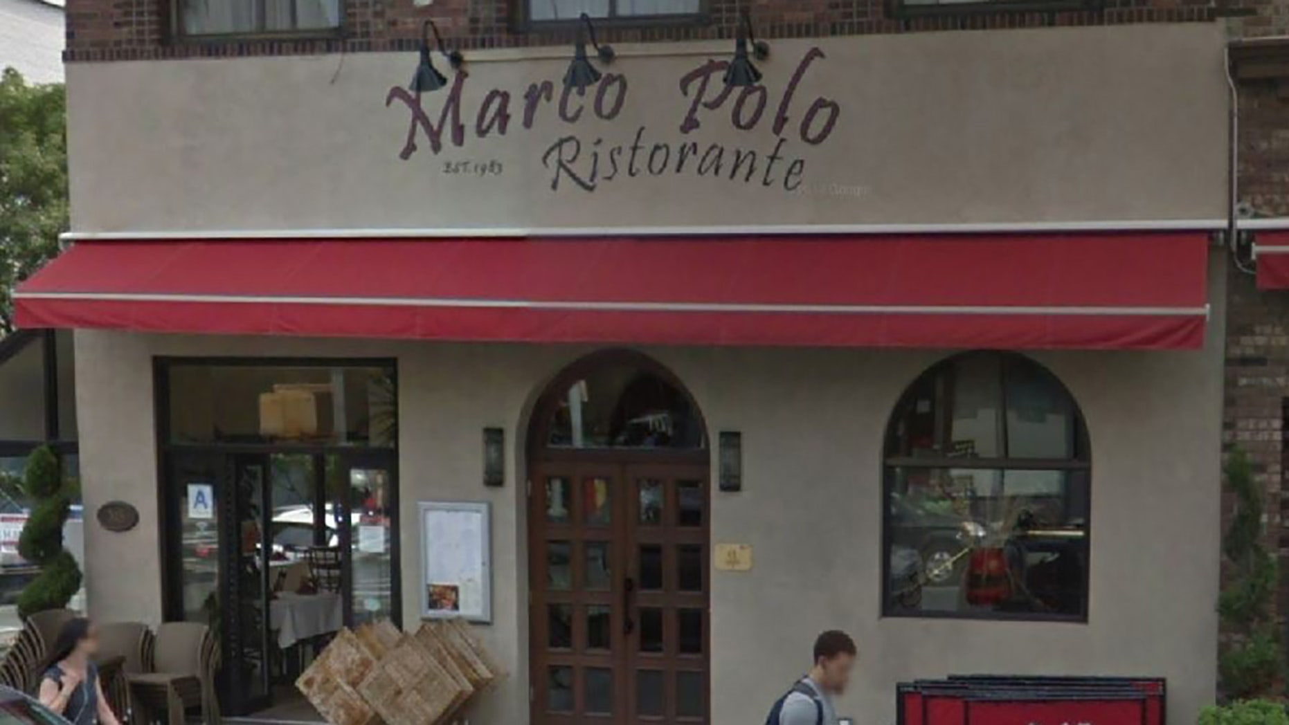 An employee arriving for work at Brooklyn's Marco Polo Ristorante just before 8 a.m. said he found the front window and door riddled with bullet holes, The New York Post reported.