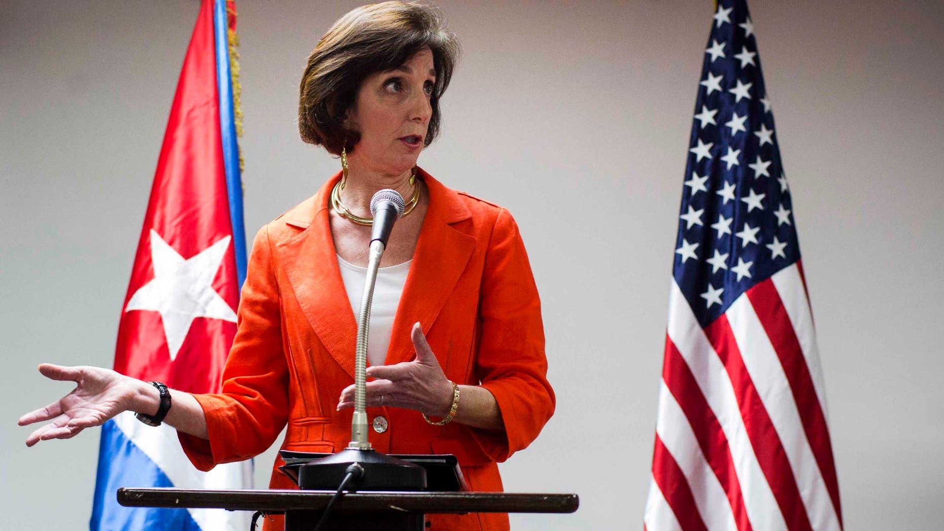 Assistant Secretary of State of the Bureau of Western Hemisphere Affairs, Roberta Jacobson, on Jan. 22, 2015.