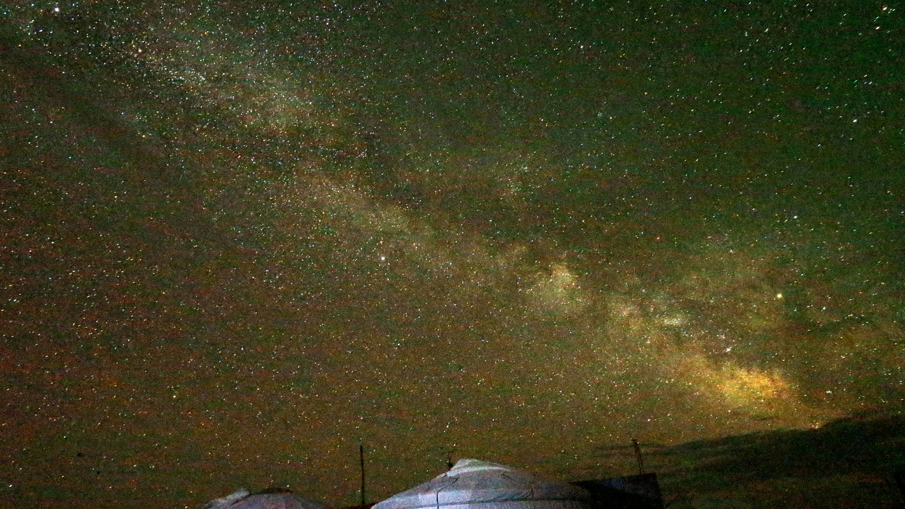 """File photo: The """"Milky Way"""" is seen across the sky in the early morning hours at the Takhin Tal National Park, part of the Great Gobi B Strictly Protected Area, in south-west Mongolia, June 23, 2017. Picture taken June 23, 2017. (REUTERS/David W Cerny)"""