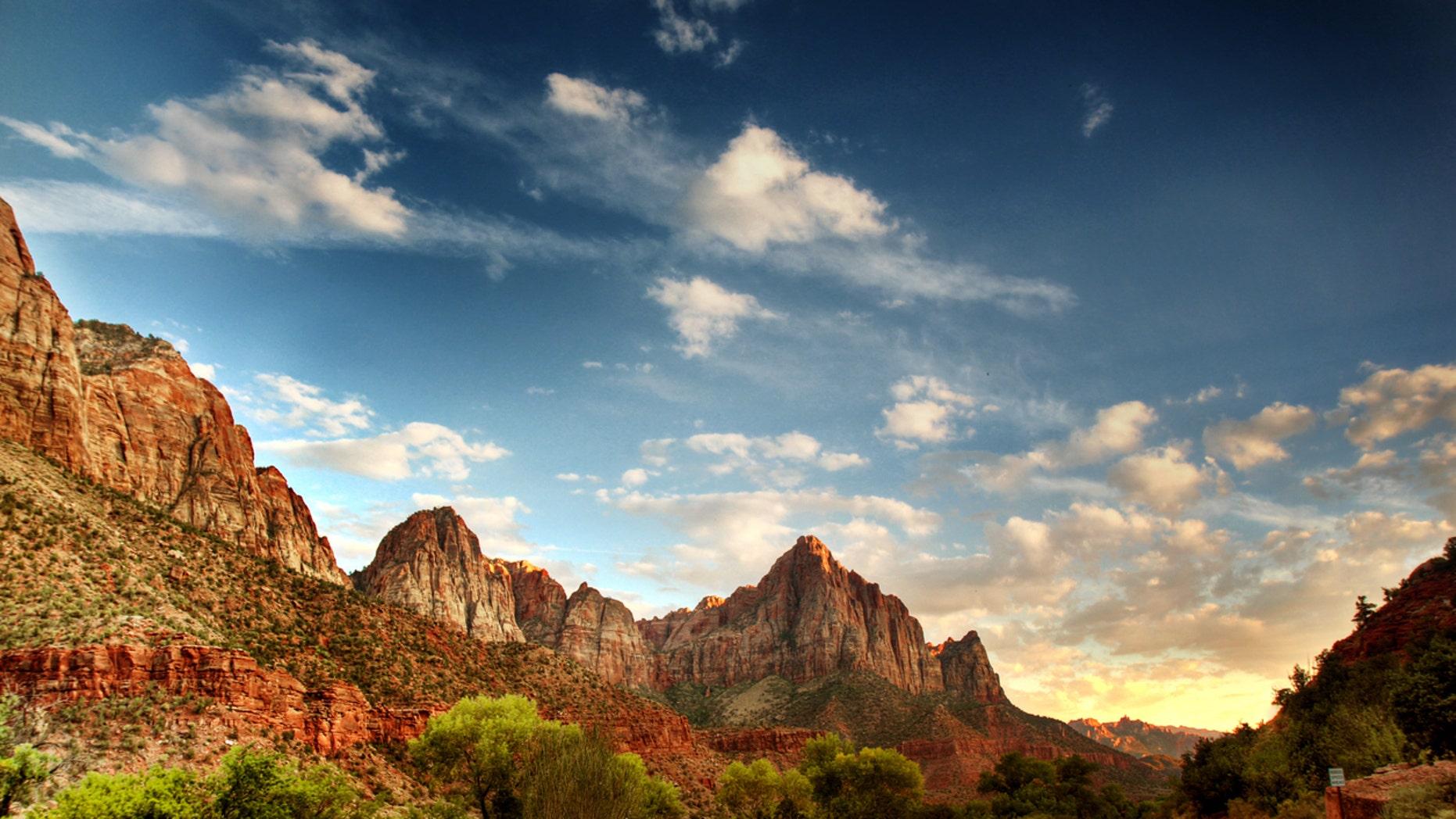 FILE -- Zion National Park