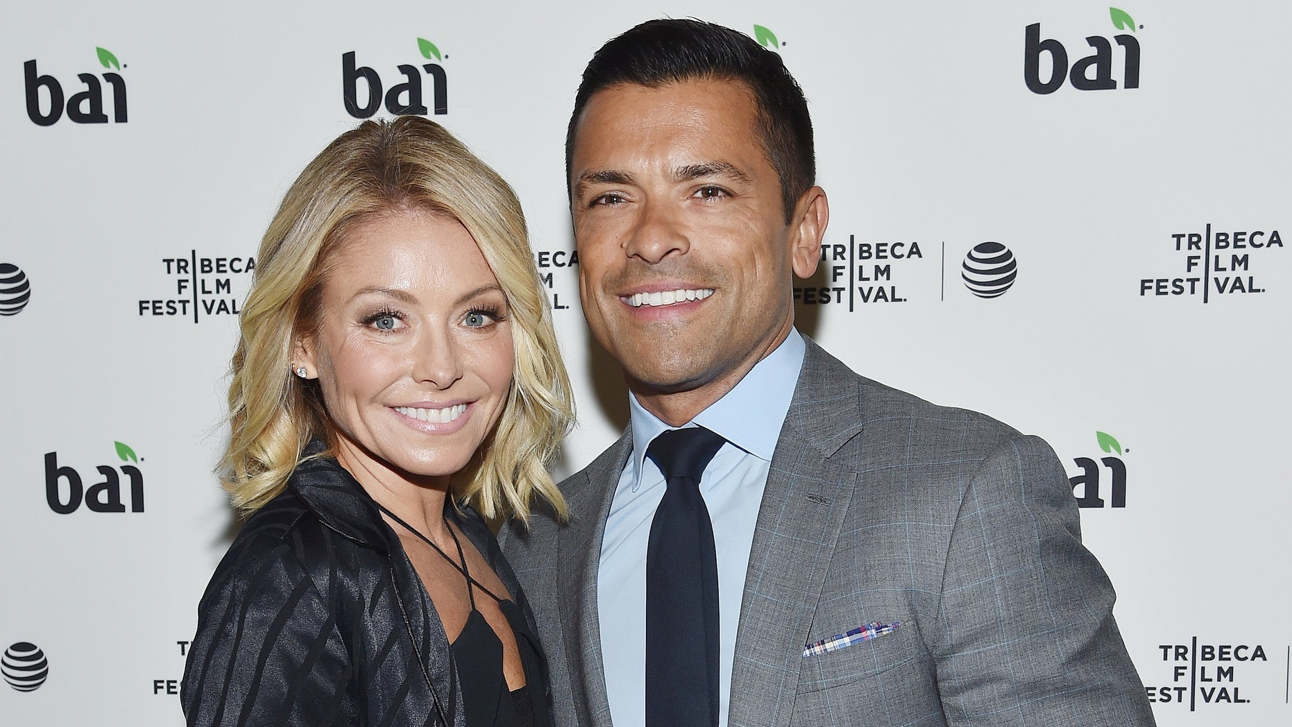 Kelly Ripa and Mark Consuelos at the 2016 Tribeca Film Festival After Party on April 15, 2016 in New York City.