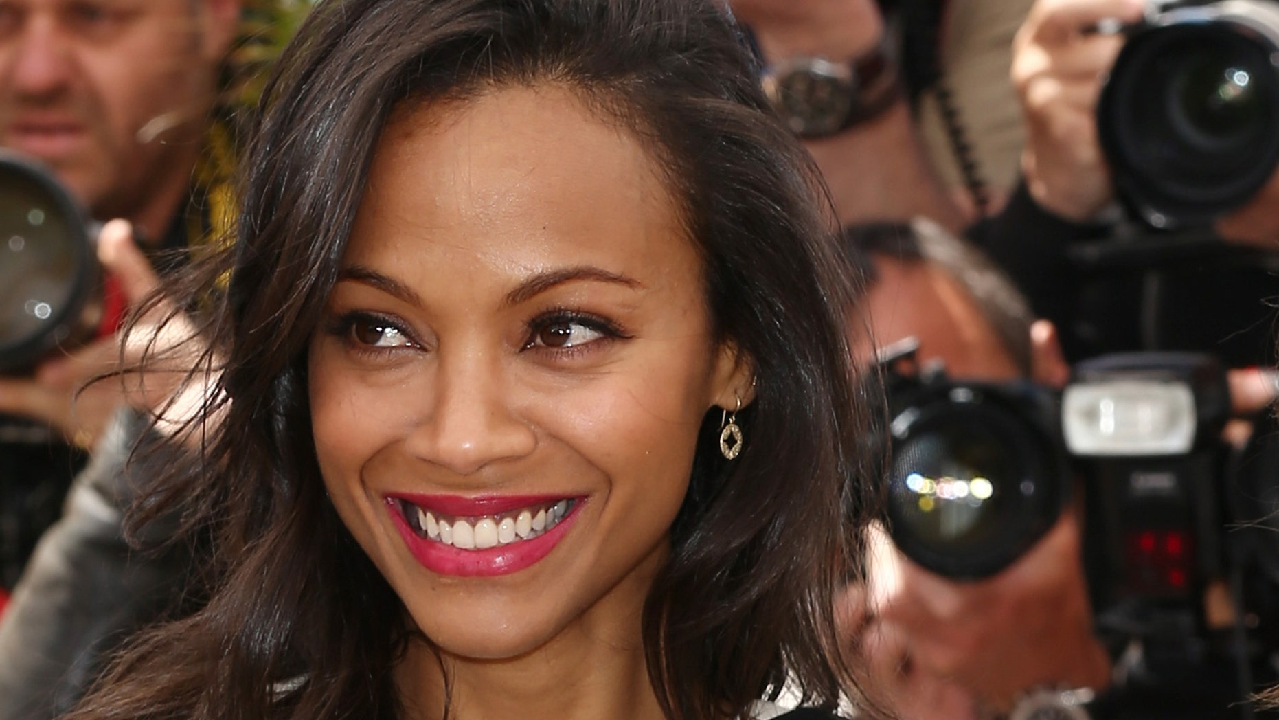 Actress Zoe Saldana attends the photocall for 'Blood Ties' at The 66th Annual Cannes Film Festival on May 20, 2013 in Cannes, France.  (Photo by Andreas Rentz/Getty Images)