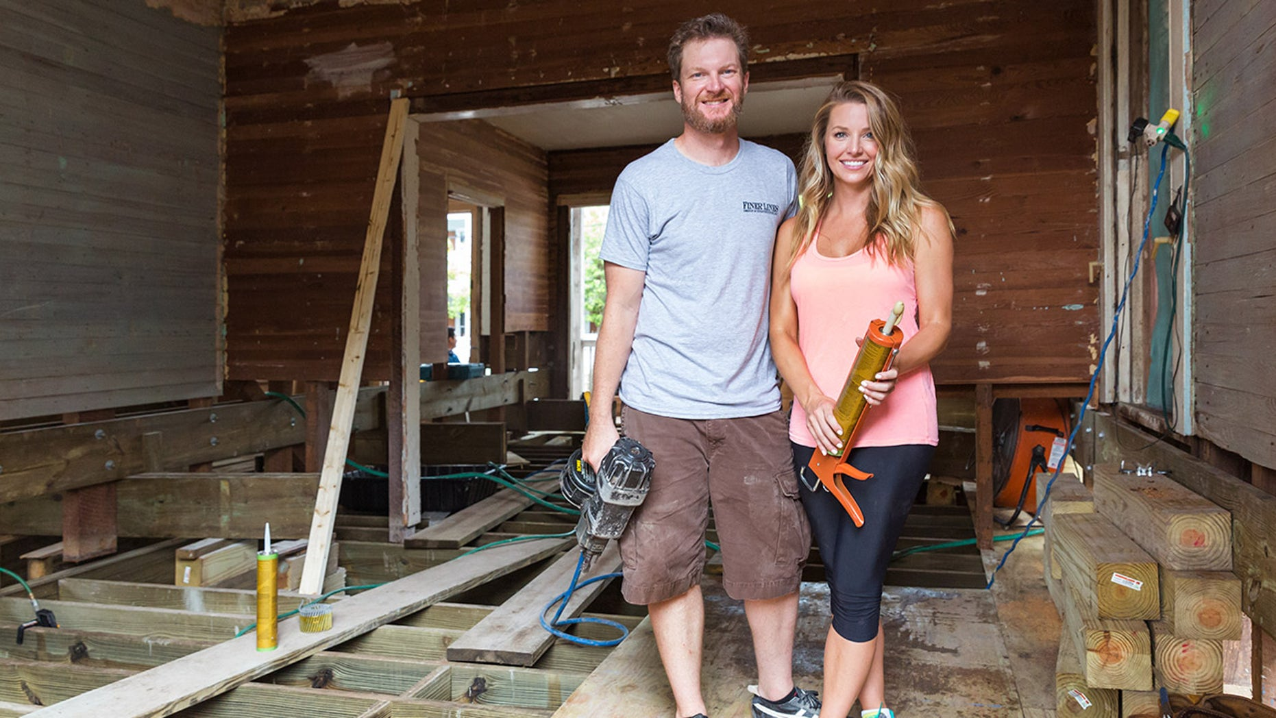 Dale and Amy Earnhardt have a new TV show on DIY Network debuting on June 2.