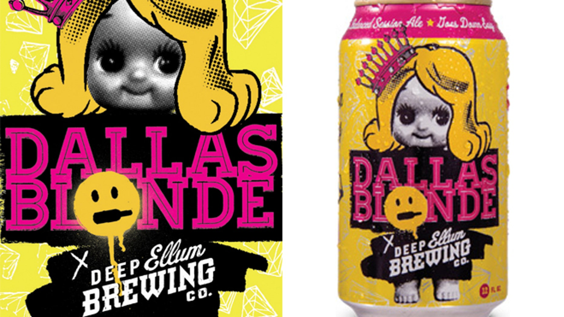 Deep Ellum Brewing is being criticized for using the slogan, 'goes down easy' to sell its American Dallas Blonde ale.