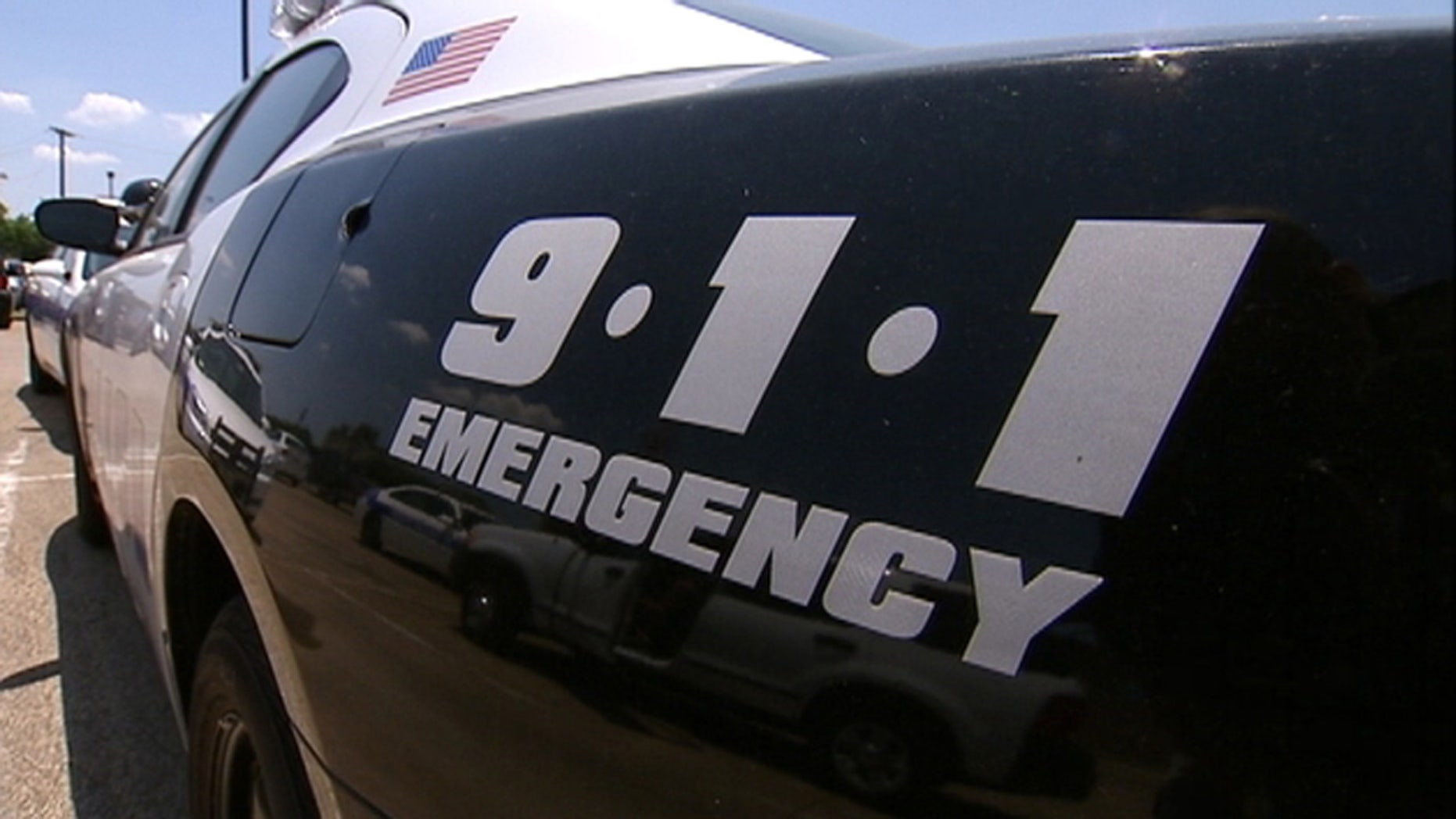 Dallas police vehicle
