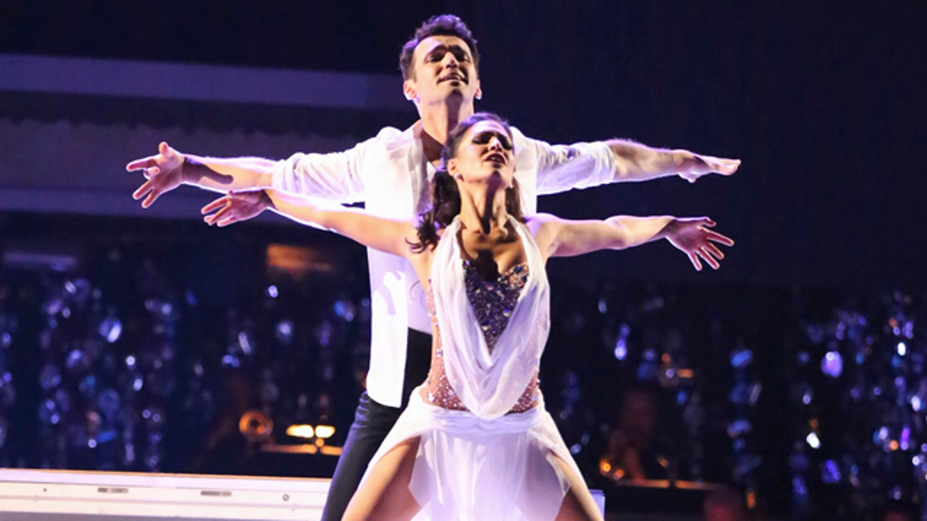 """Nov. 26, 2012: Reality TV star Melissa Rycroft and her professional dance partner, Tony Dovolani, were named the champions on ABC's """"Dancing With the Stars: All Stars."""""""