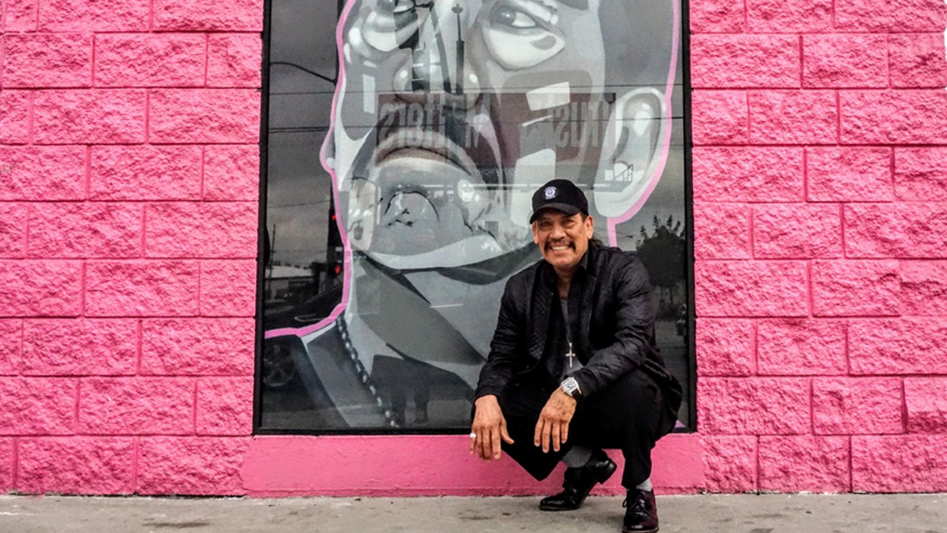 Danny Trejo at Trejo's Coffee & Donuts