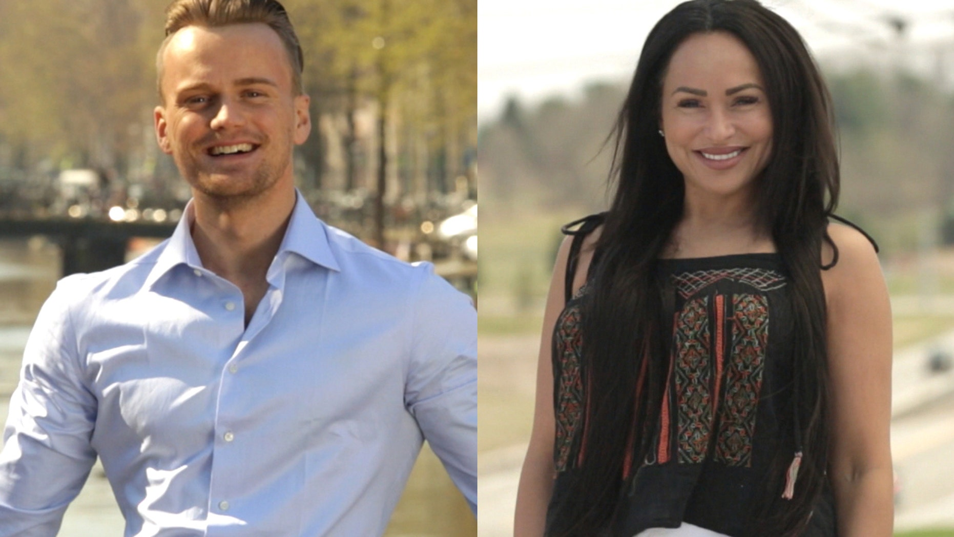 """Darcey (right) hopes to find love with Jesse (left) on TLC's """"90 Day Fiance: Before the Ring."""""""