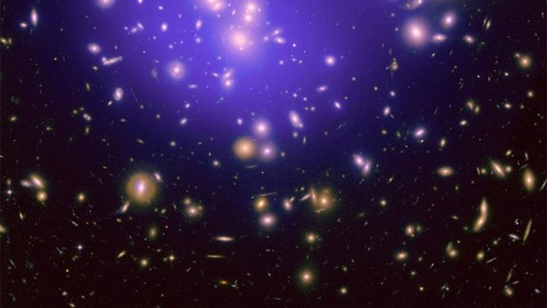 "The galaxy cluster Abell 1689 is famous for the way it bends light in a phenomenon called gravitational lensing. A new study of the cluster is revealing secrets about how dark energy shapes the universe. <a href=""http://www.space.com/scienceastr</p"">NASA, ESA, E. Jullo (JPL/LAM), P. Natarajan (Yale) and J-P. Kneib (LAM) </a>"