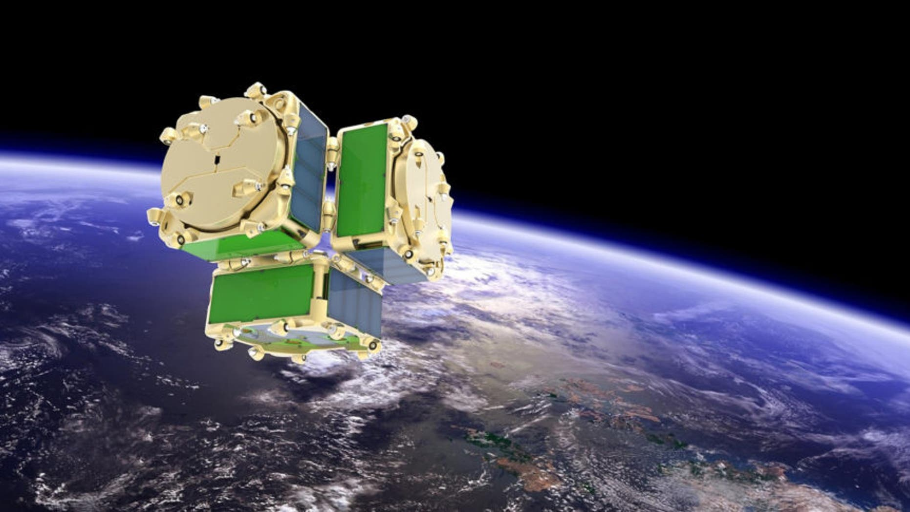 DARPA wants to launch its EXCITE spacecraft with experimental 'satlets' from NovaWurks on an Indian PSLV rocket.