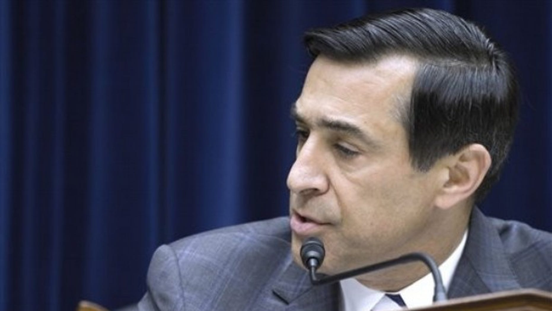 House Oversight and Government Reform Committee Chairman Rep. Darrell Issa, R-Calif. , speaks on Capitol Hill in Washington, Thursday, June 2, 2011,