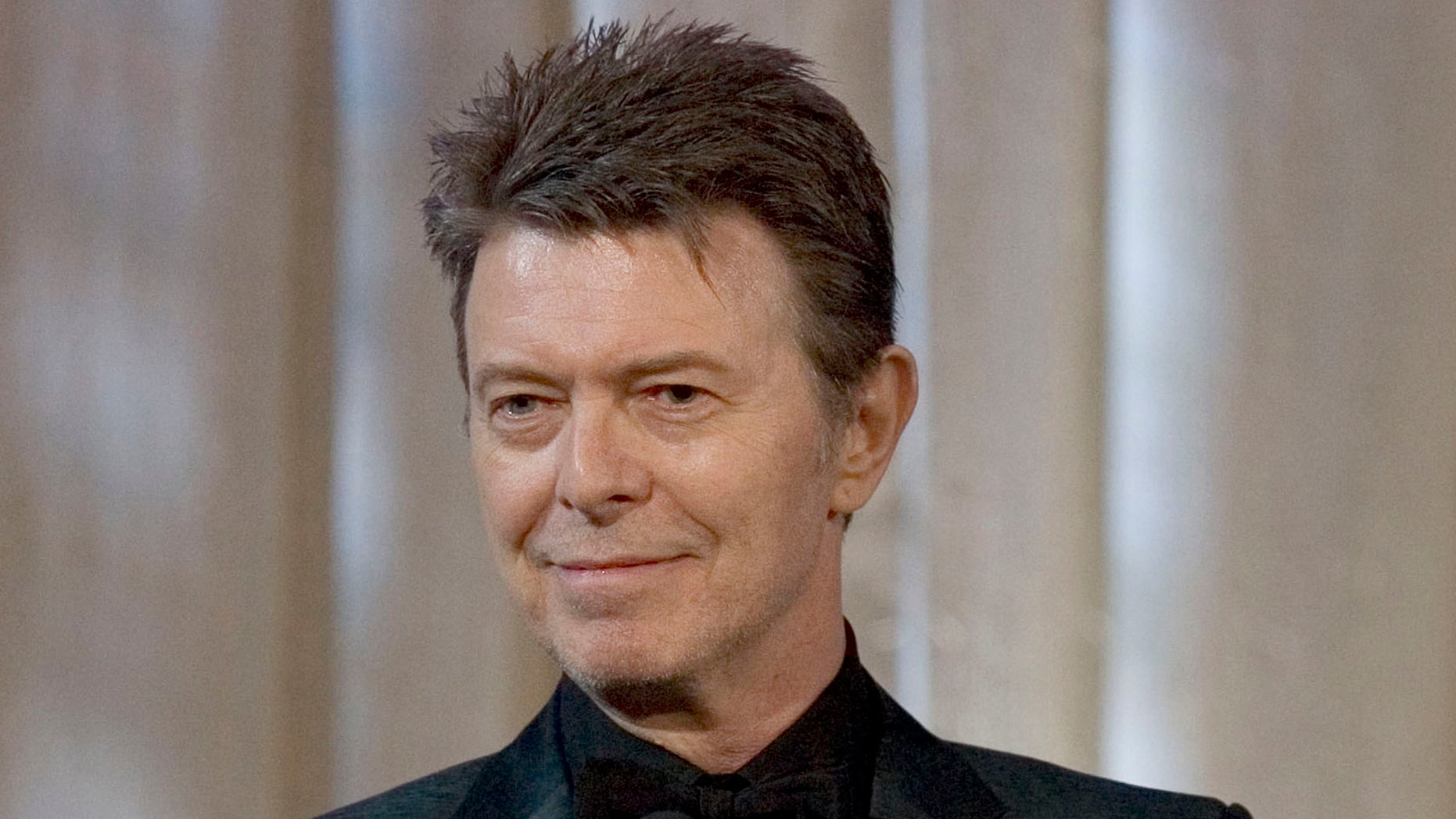 June 5, 2007.  David Bowie attends an awards show in New York.