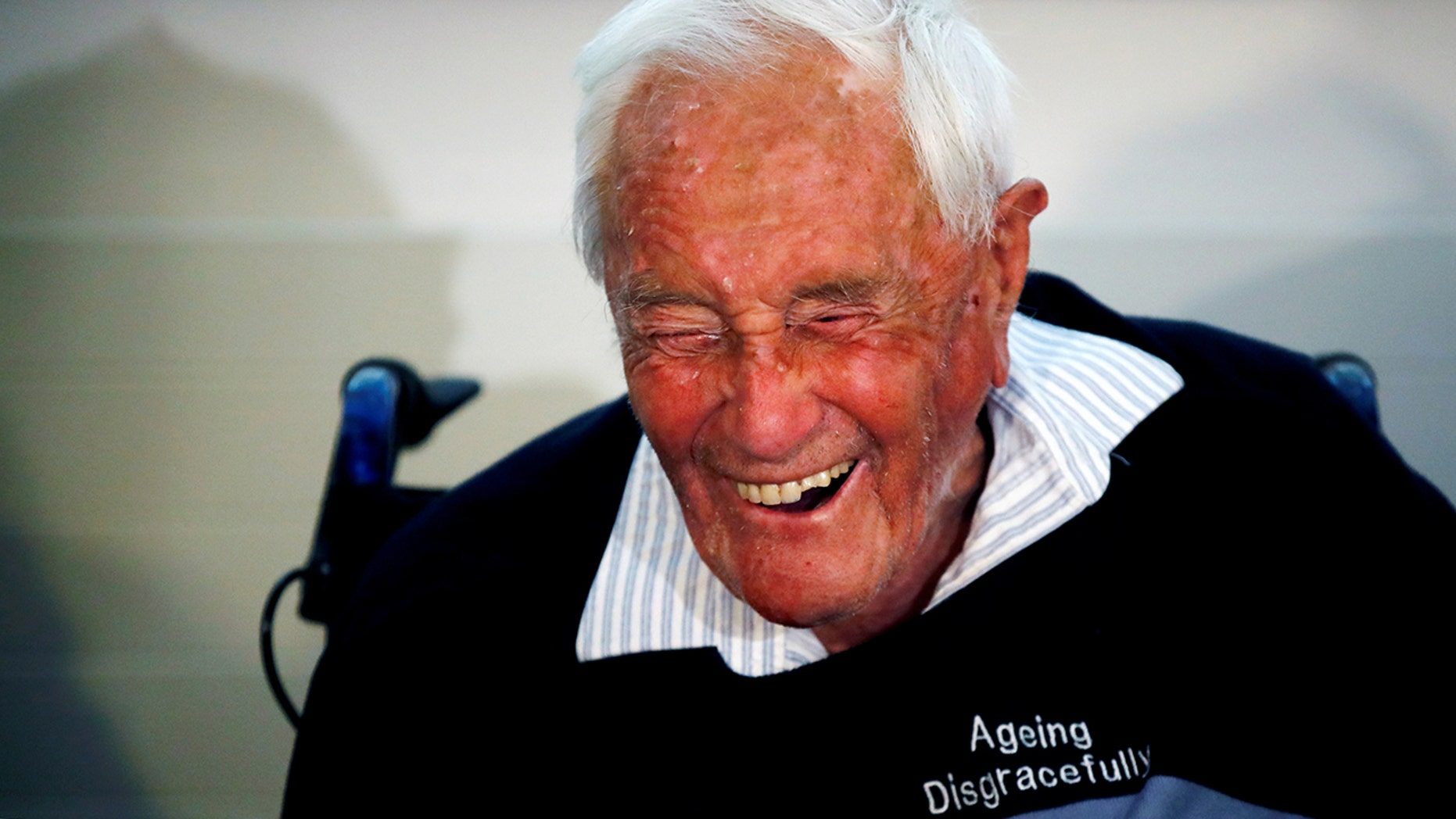 David Goodall, 104, spoke at a news conference a day before he took his own life in assisted suicide, in Basel, Switzerland.