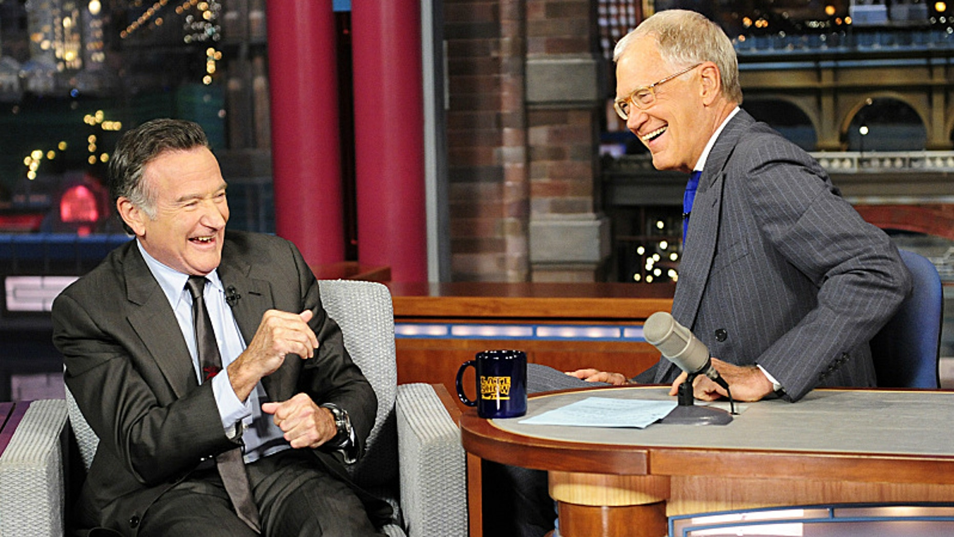 david letterman robin williams tribute