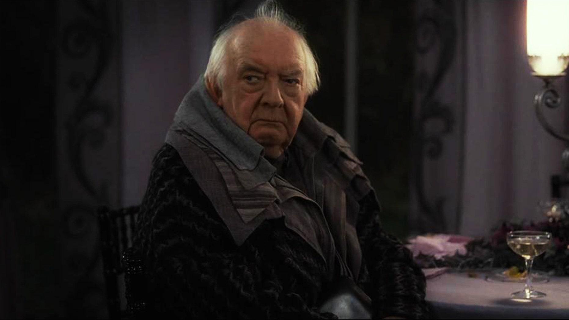 """David Ryall  as Elphias Doge in """"Harry Potter."""""""