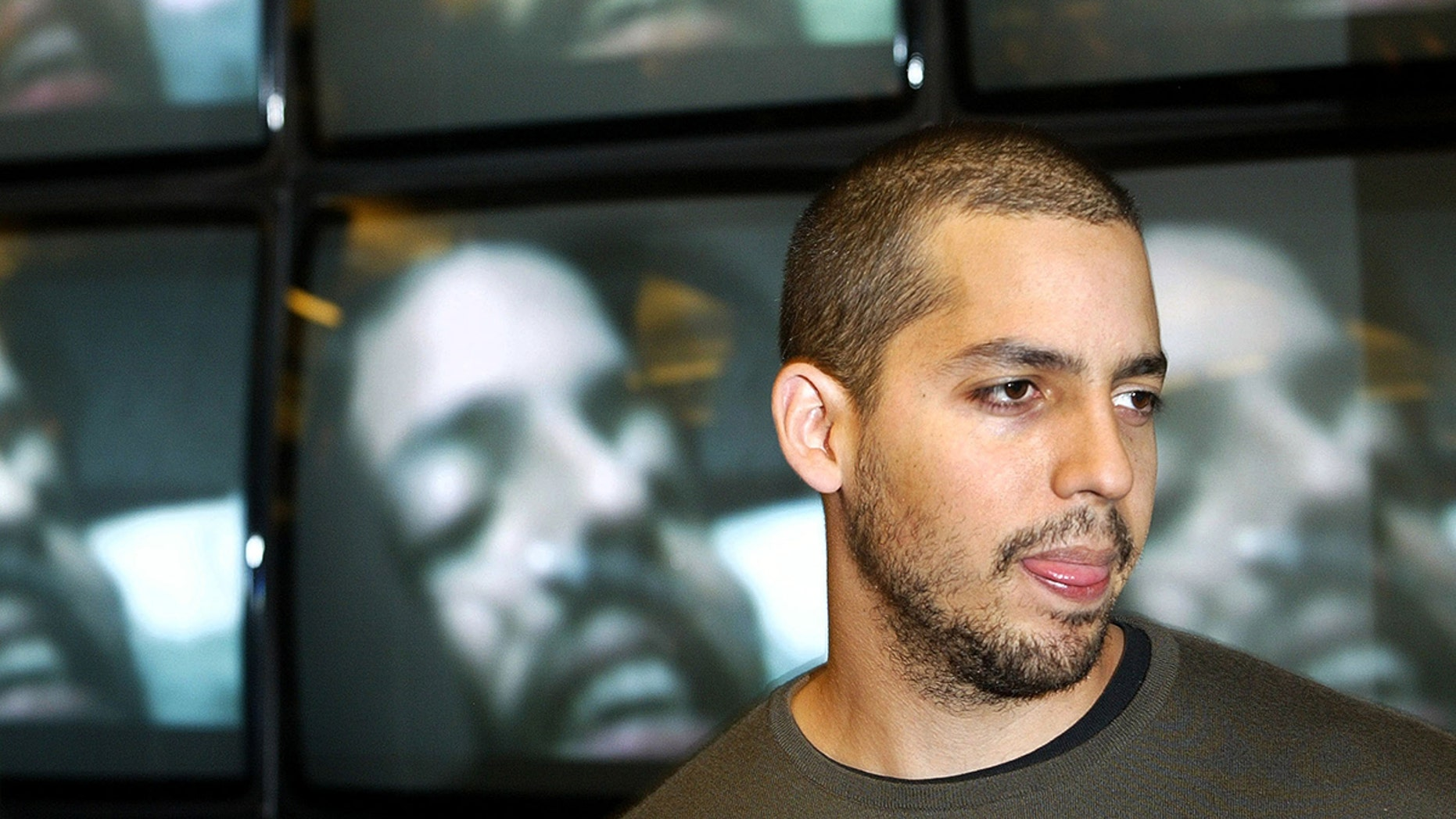 Magician David Blaine, pictured here at a promotional event in London in 2003, is being investigated for rape.