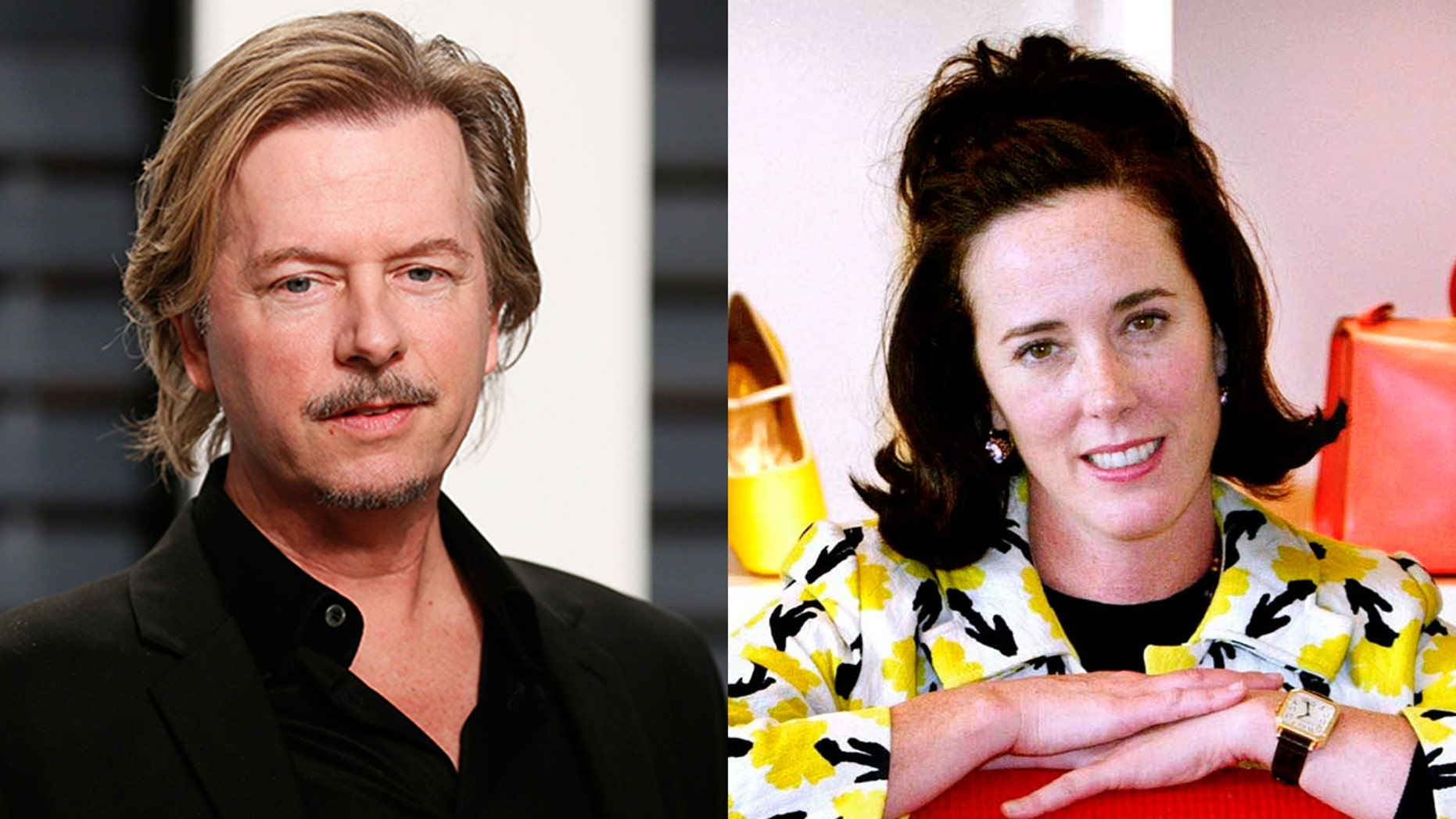 David Spade paid tribute to his late sister-in-law Kate, who was found dead by an apparent suicide on Tuesday. The famed fashion designer was 55.