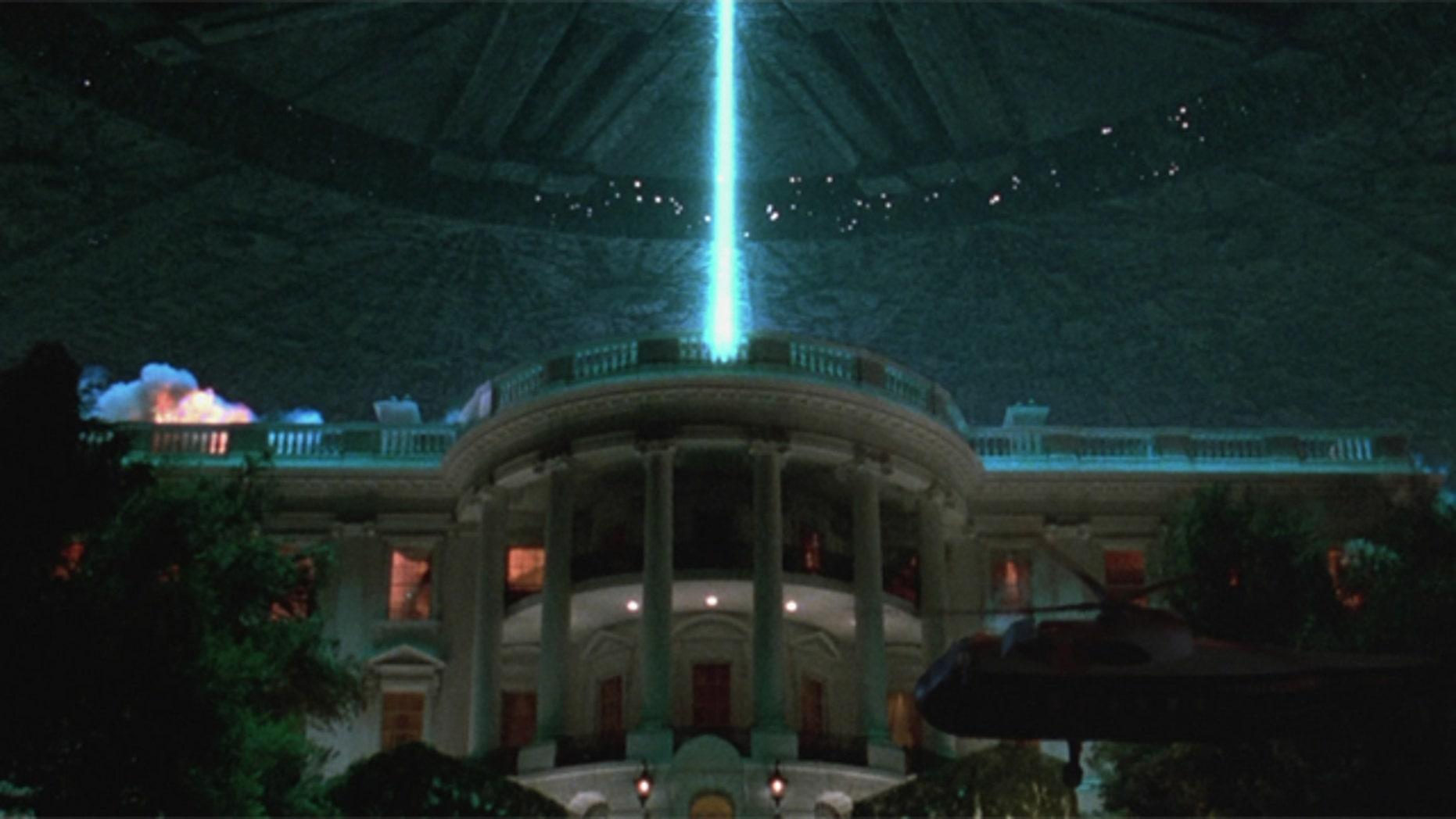 No sign of aliens, the White House said -- yet.