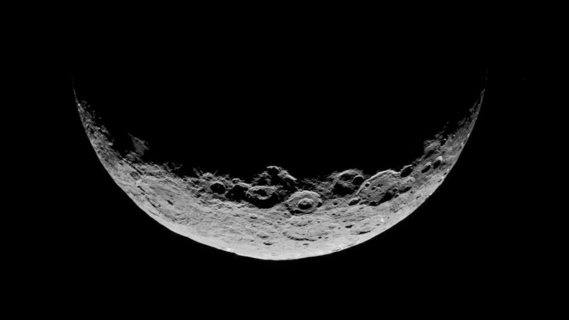 New research suggests some asteroids started as giant mud balls. The largest objects in the Asteroid Belt, like Ceres (shown here), might still harbor mud at their hearts.