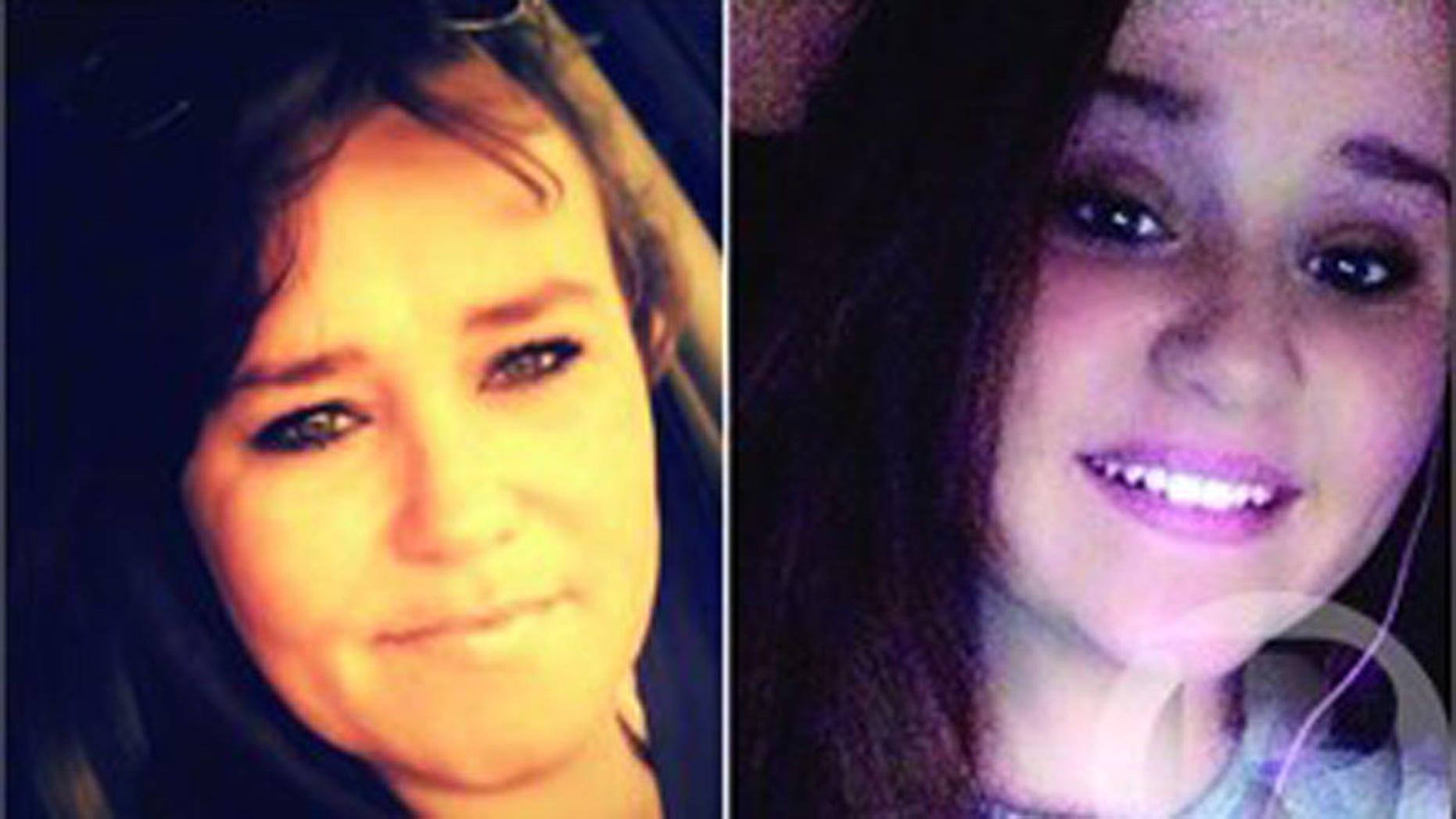 Dawn Ward, 40 and Taylor Carroll, 14. (Martin County Sheriff's Office)