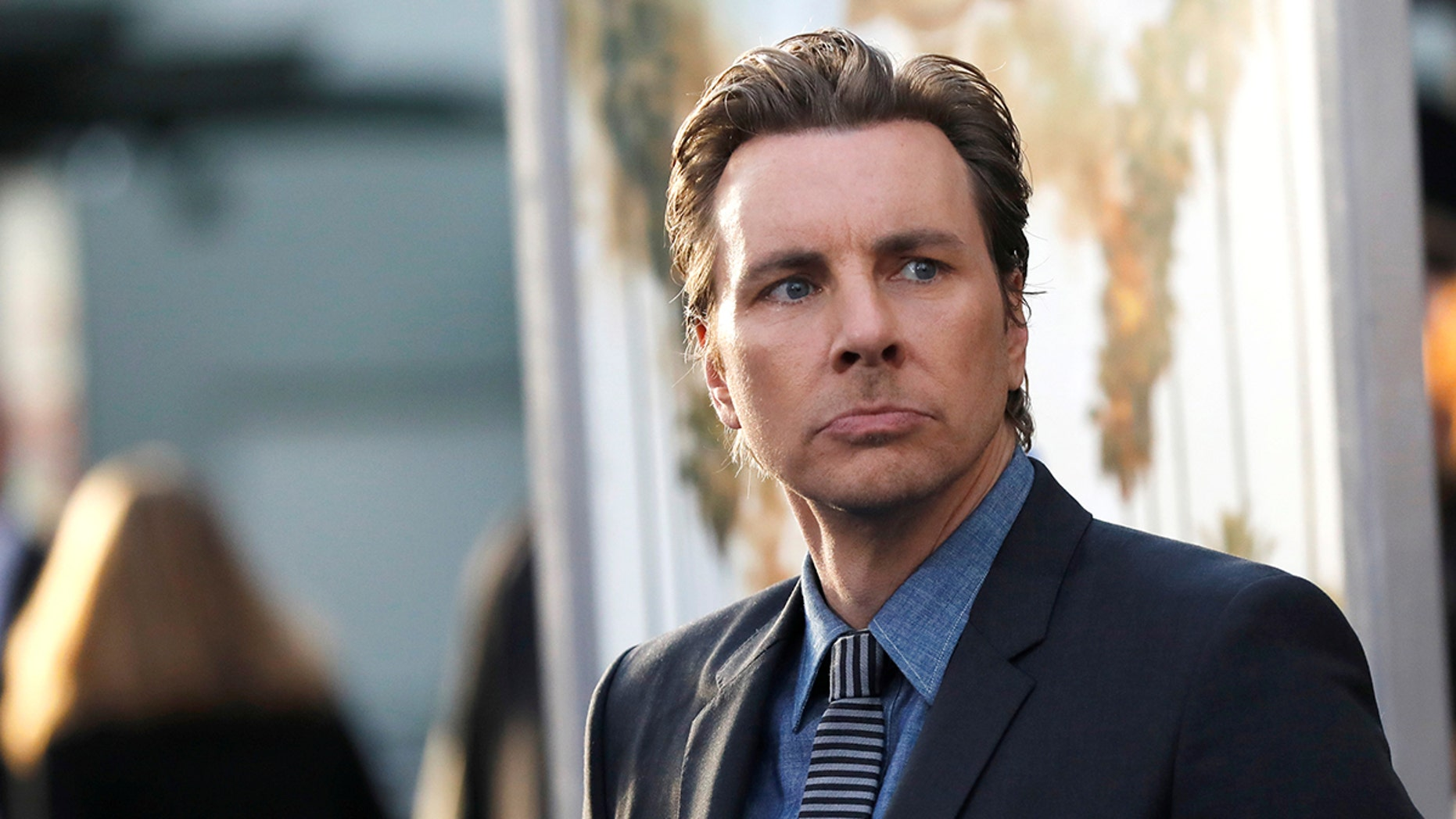 """Director and cast member Dax Shepard poses at the premiere of """"CHIPS"""" in Los Angeles, California U.S., March 20, 2017.   REUTERS/Mario Anzuoni - RC12D17200F0"""