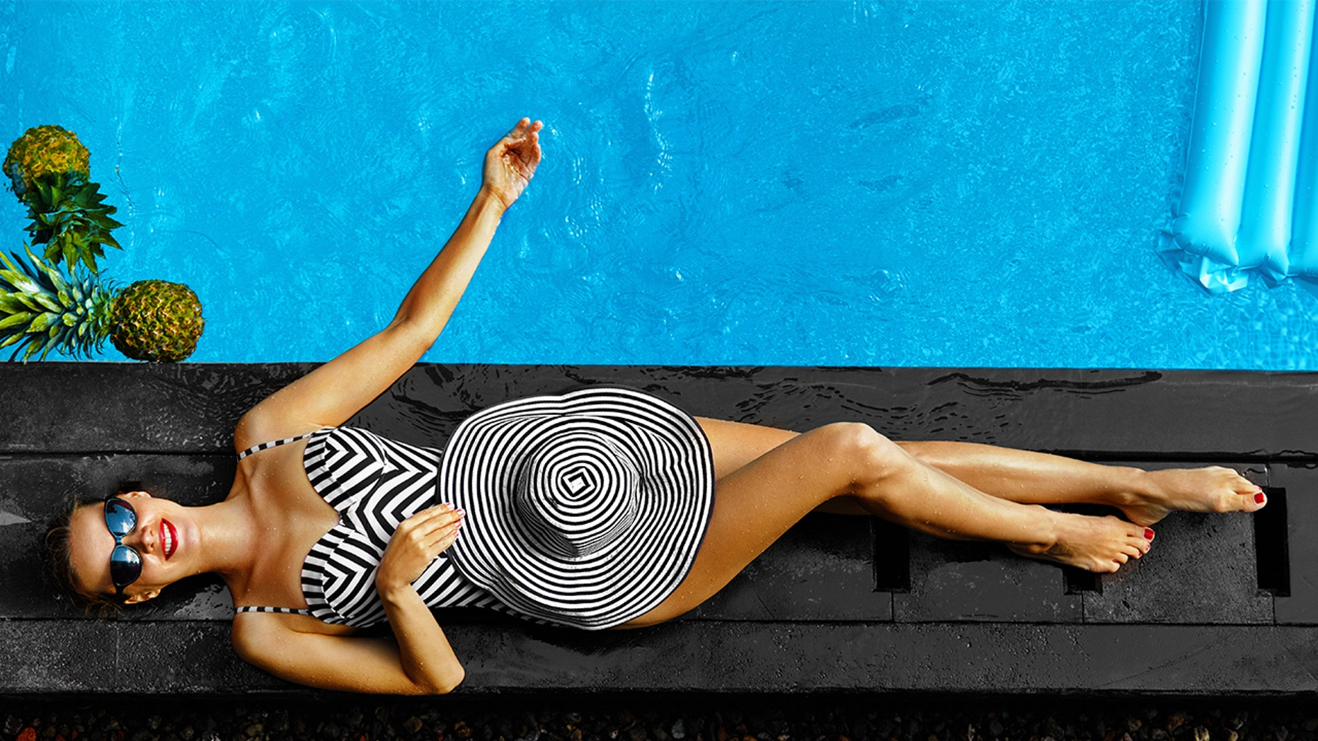 Ditch the bikini and try a trendy one-piece, instead.