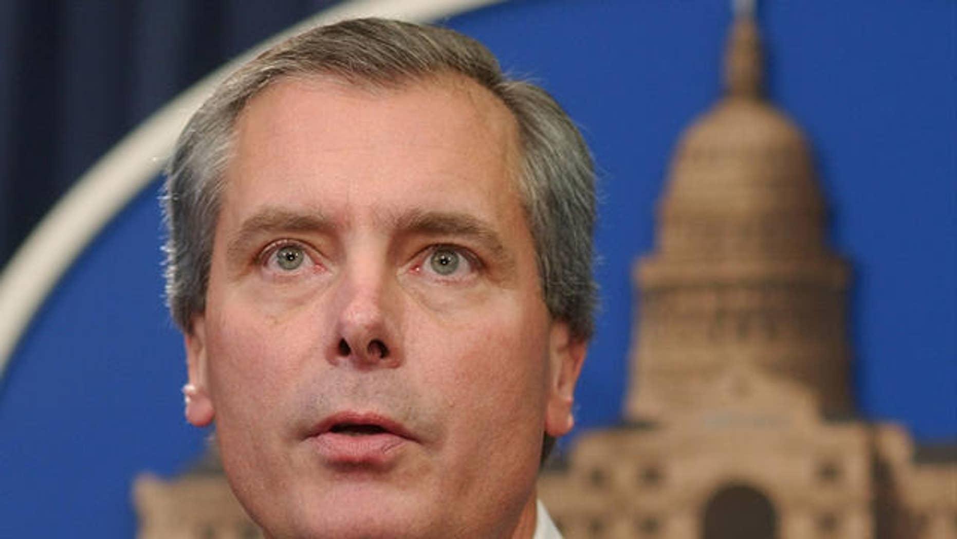 Texas Lt. Governor David Dewhurst