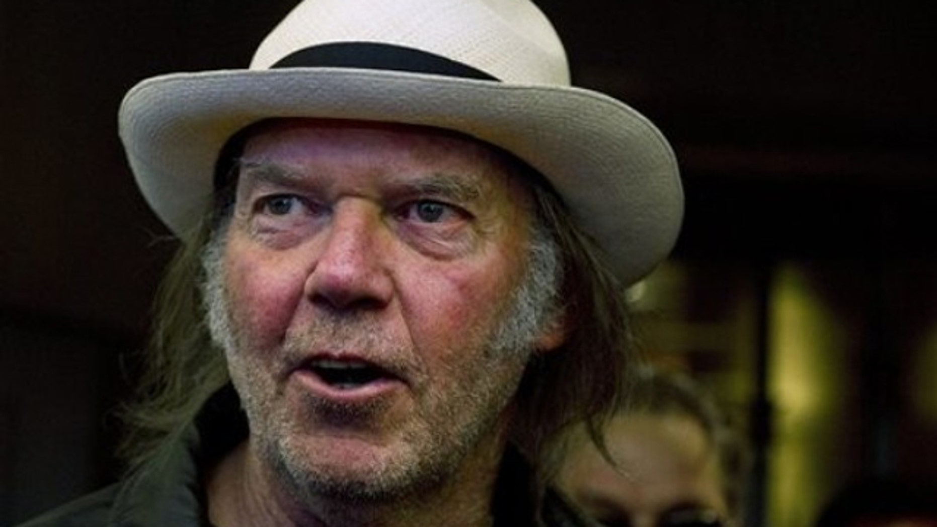 """I talked to Steve about it. We were working on it,"" legendary rocker Neil Young said about a possible higher-definition music device."