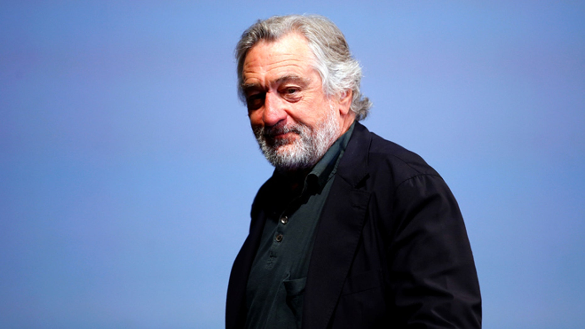 Robert De Niro discussed vaccine safety while being interviewed.