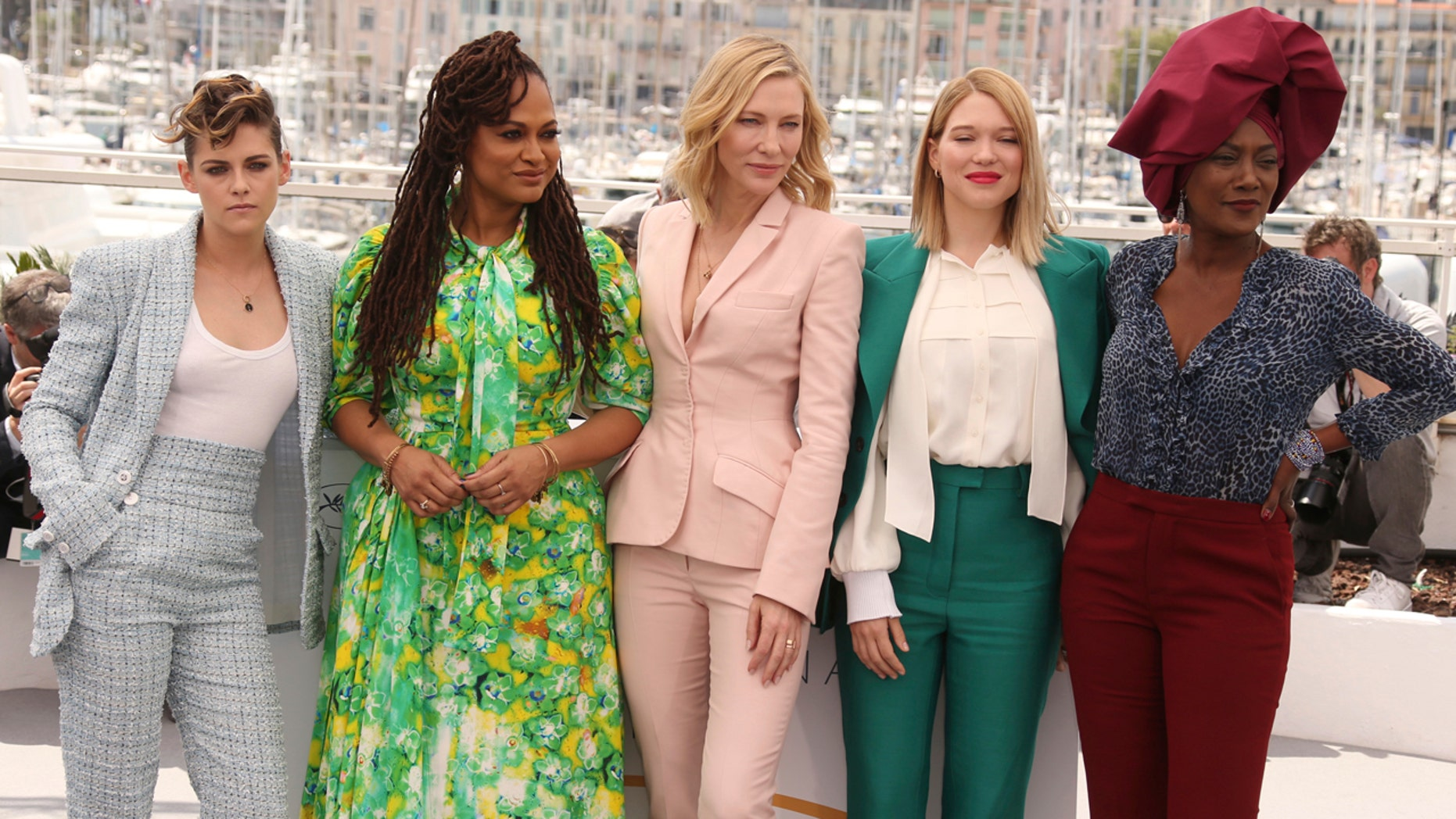 Cannes Film Festival jurors, Cate Blanchett, Kristen Stewart, Ava DuVernay, Lea Seydoux and Burundian singer Khadja Nin, are expected to be some of the women taking part in the Saturday protest.