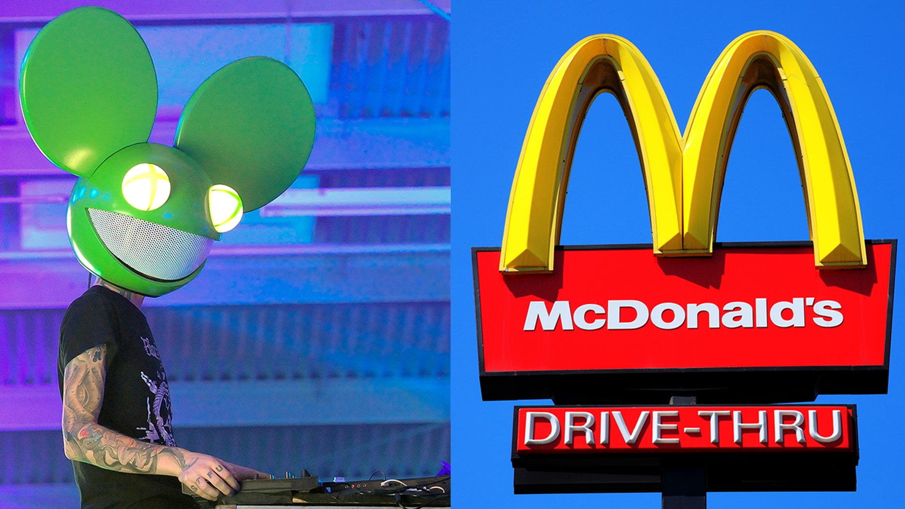 Deadmau5 gifted concertgoers with some of his rare McDonald's Szechuan sauce
