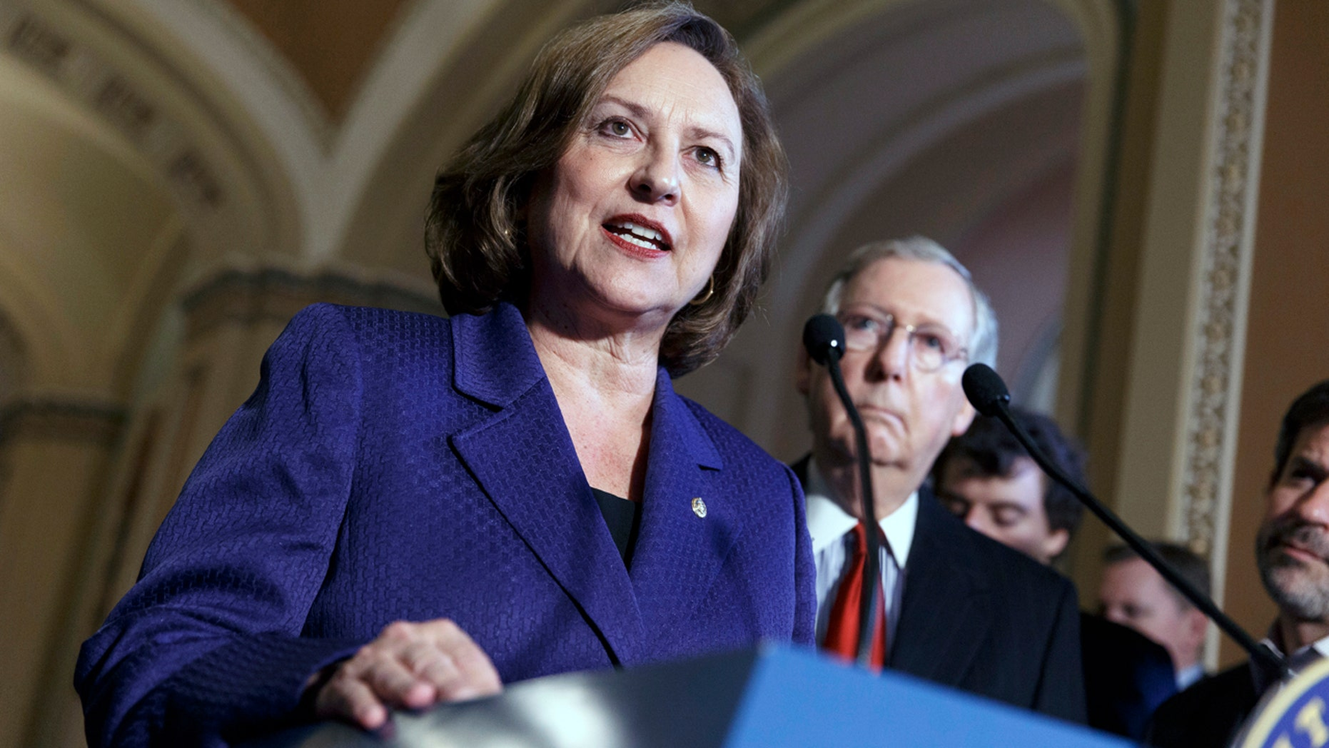 Sen. Deb Fischer, R-Neb., will battle Lincoln City Councilwoman Jane Raybould in November's general election