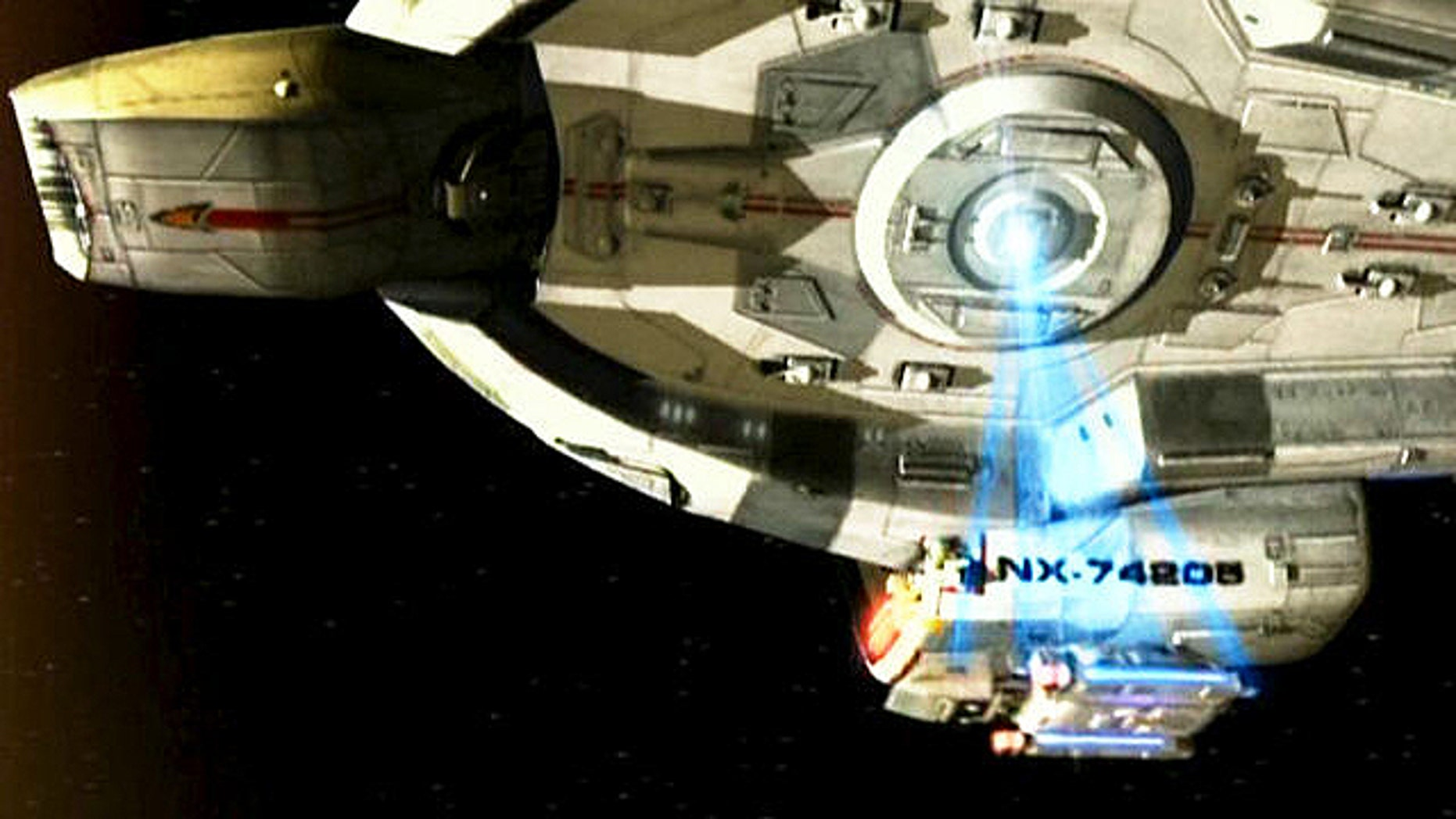 """In """"Stak Trek,"""" Federation starships relied upon tractor beams to hold and tow other vessels. Scientists may not be there yet, but they have managed to tow a small particle using light beams."""