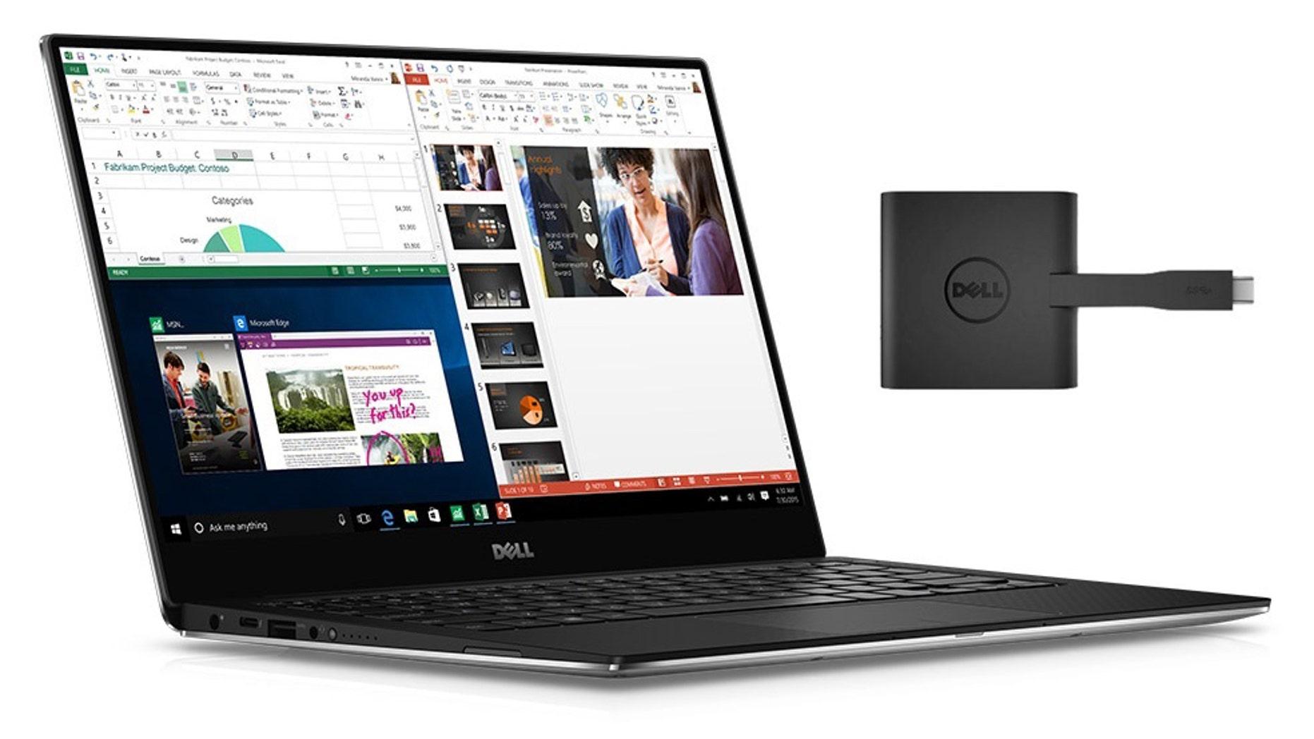 Dell XPS 13, 2016 version (Dell).