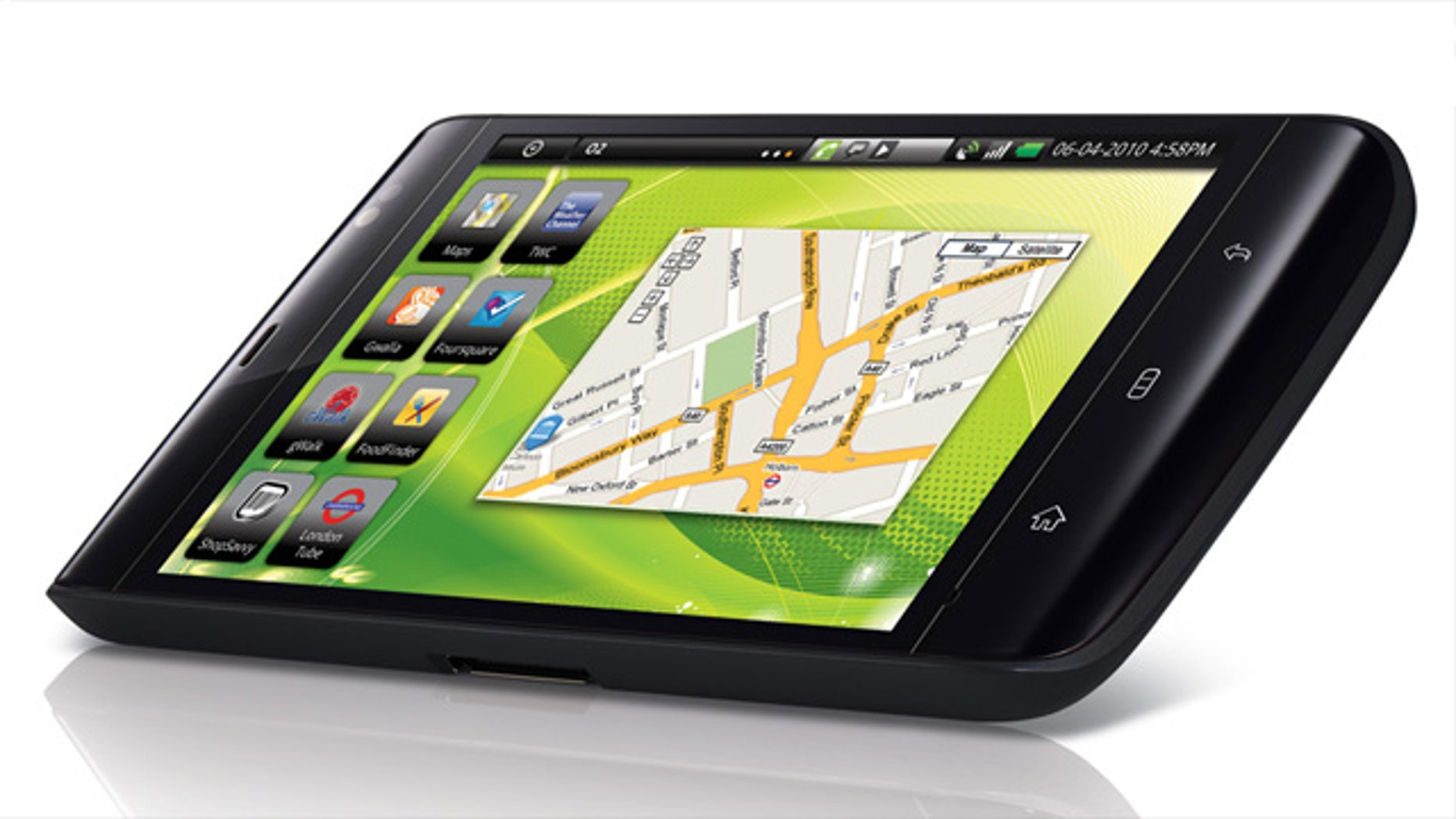 "Dell will be launching a 7"" Android based tablet in the ""next few weeks"" to challenge the iPad."