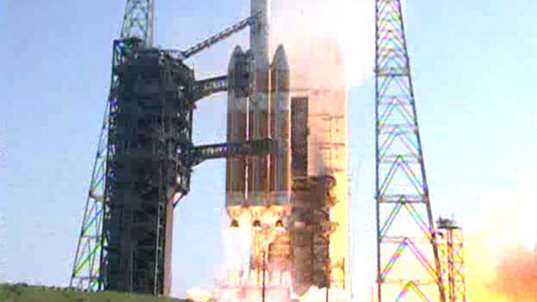 June 29, 2012: A ULA Delta 4 Heavy Rocket launches the NROL-15 spy satellite from Cape Canaveral, Fla.