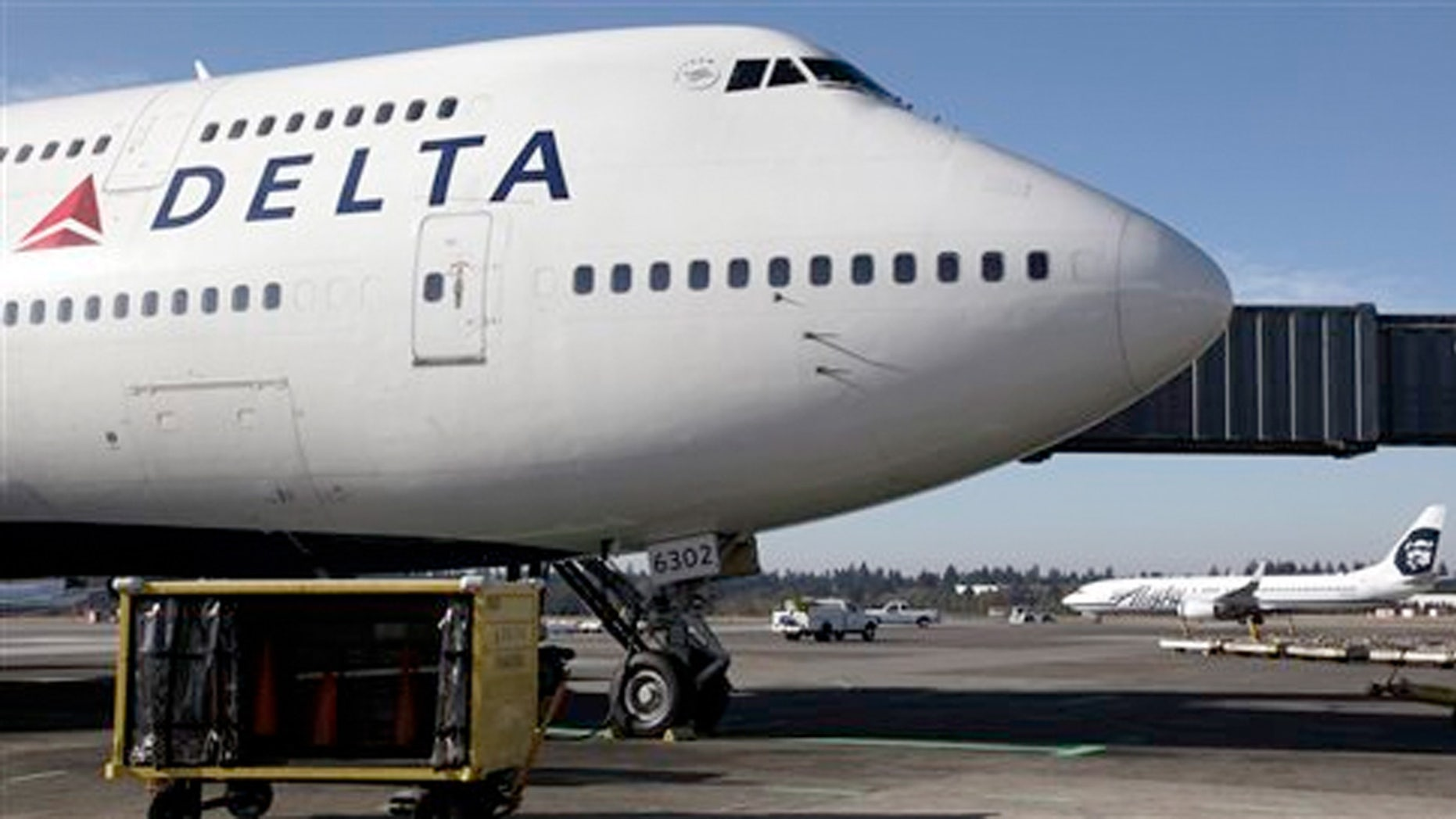A mother of three is praising Delta Air Lines for upgrading her so she could pump breast milk in privacy.