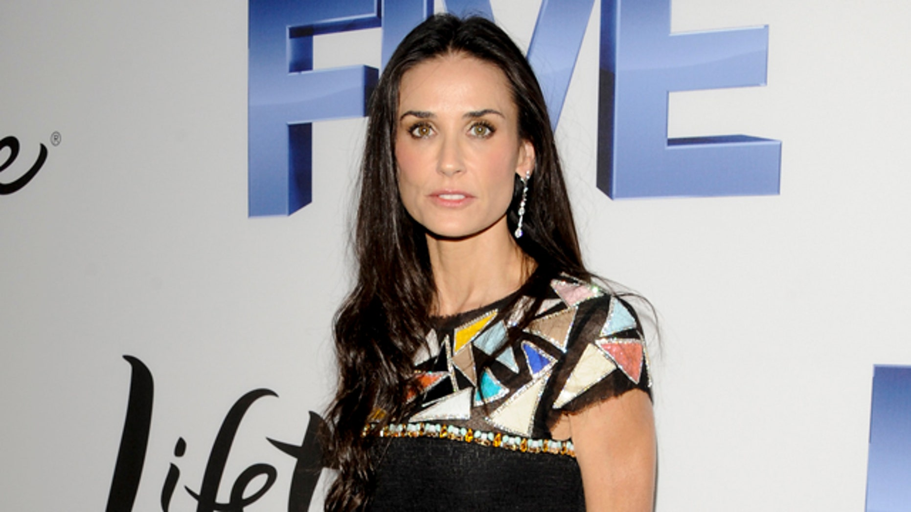 """Sept. 26: Director Demi Moore attends the Lifetime and Sony Pictures Television premiere screening """"Five"""" at Skylight SoHo in New York."""
