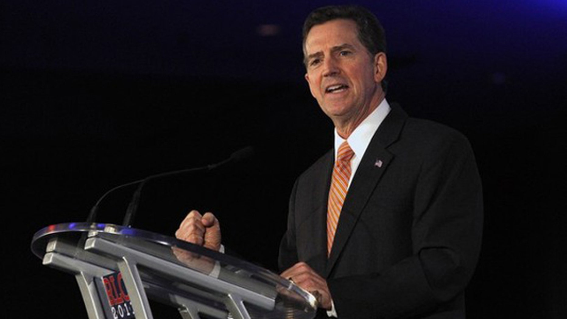 June 17, 2011: Sen. Jim DeMint speaks during the Republican Leadership Conference in New Orleans.