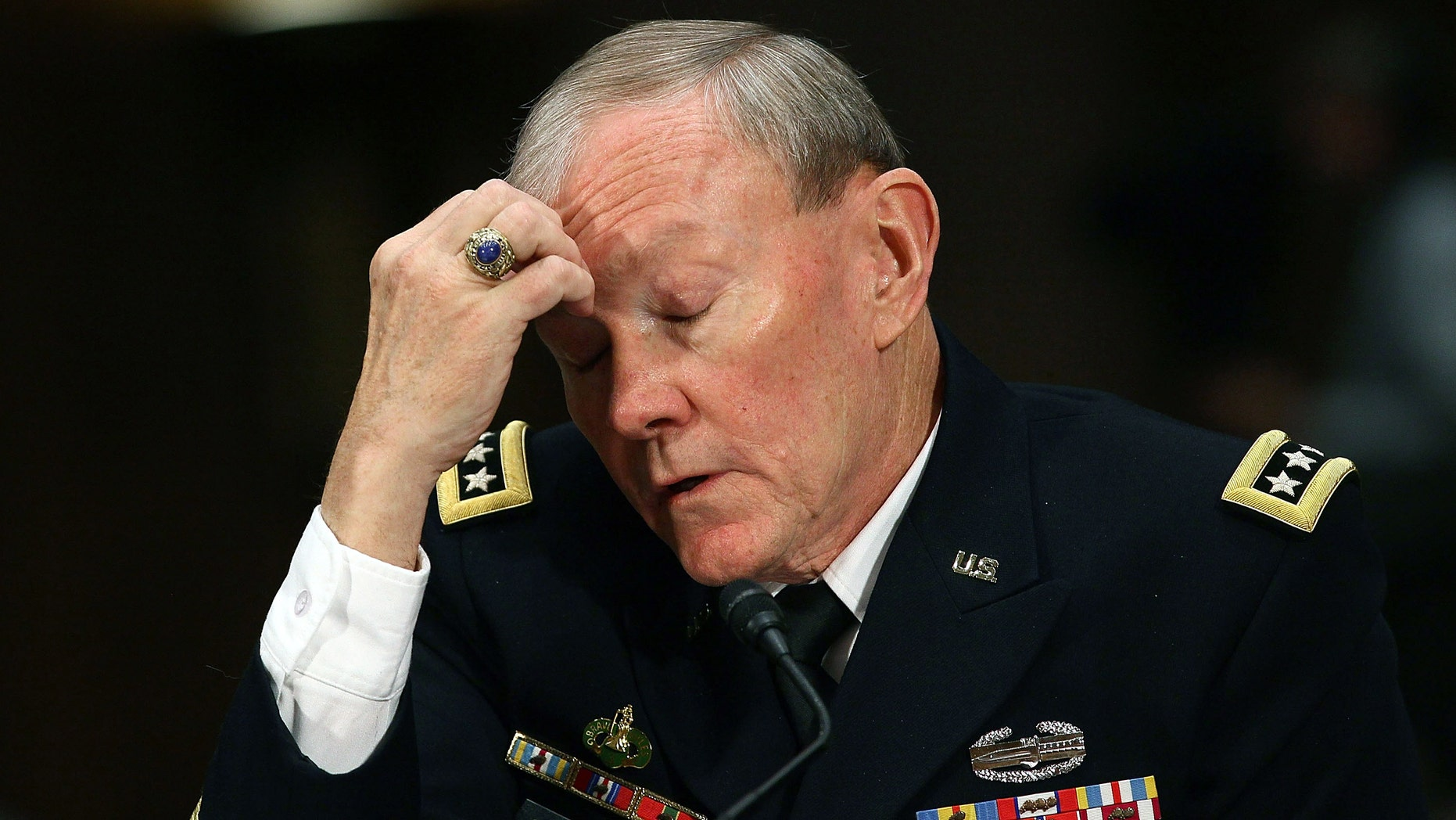 Chairman of the Joint Chiefs of Staff Gen. Martin Dempsey. (Photo by Mark Wilson/Getty Images)