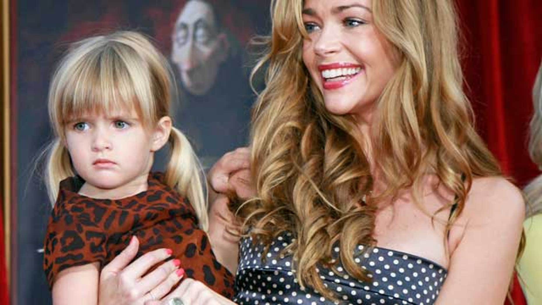 Denise Richards and her daughter Sam.