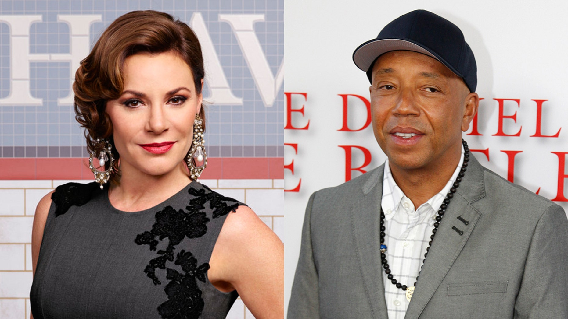 "Luann de Lesseps of ""Real Housewives"" has accused Russell Simmons of groping her."