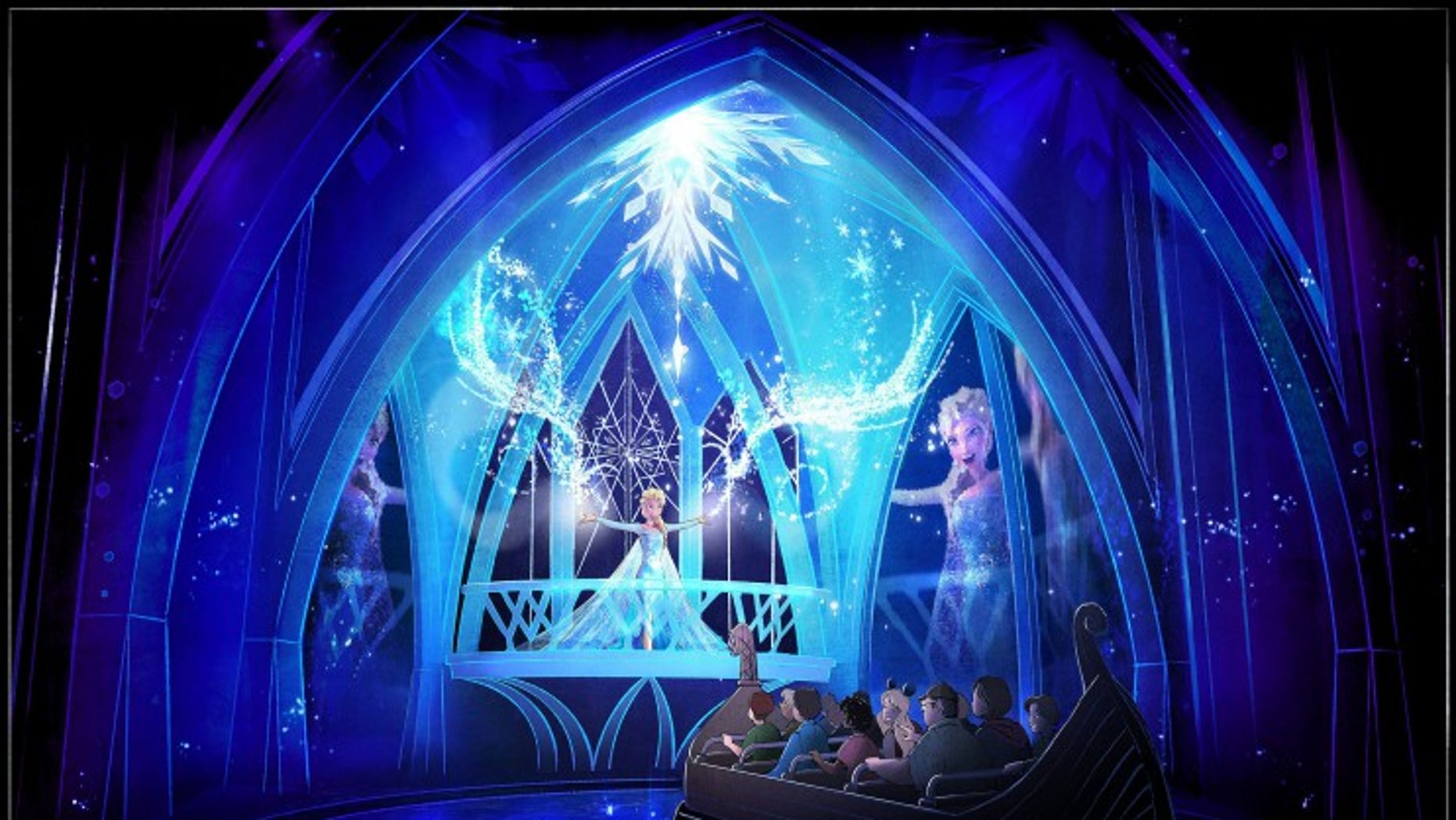 """The """"Frozen Ever After"""" ride will debut at Epcot early 2016."""
