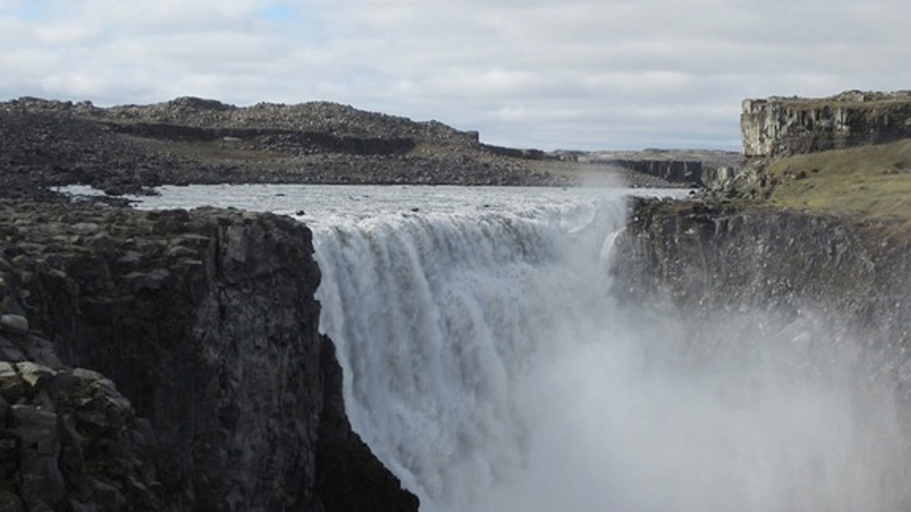 The canyon that holds Europe's most powerful waterfall, Detifoss in Iceland, may have formed in a matter of days, new research suggests.