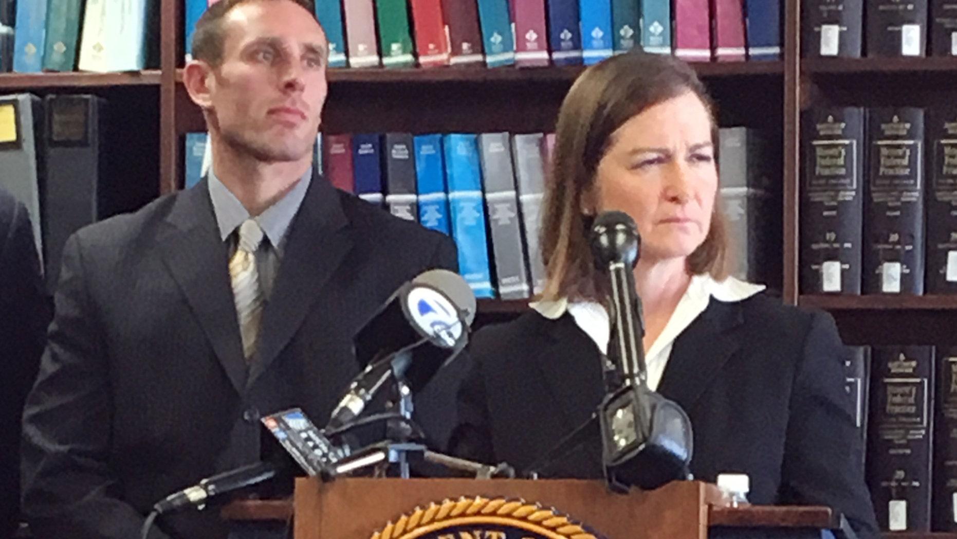 March 29, 2016: U.S. Attorney Barbara McQuade discusses an alleged bribery and kickback scheme involving supplies for Detroit's public schools